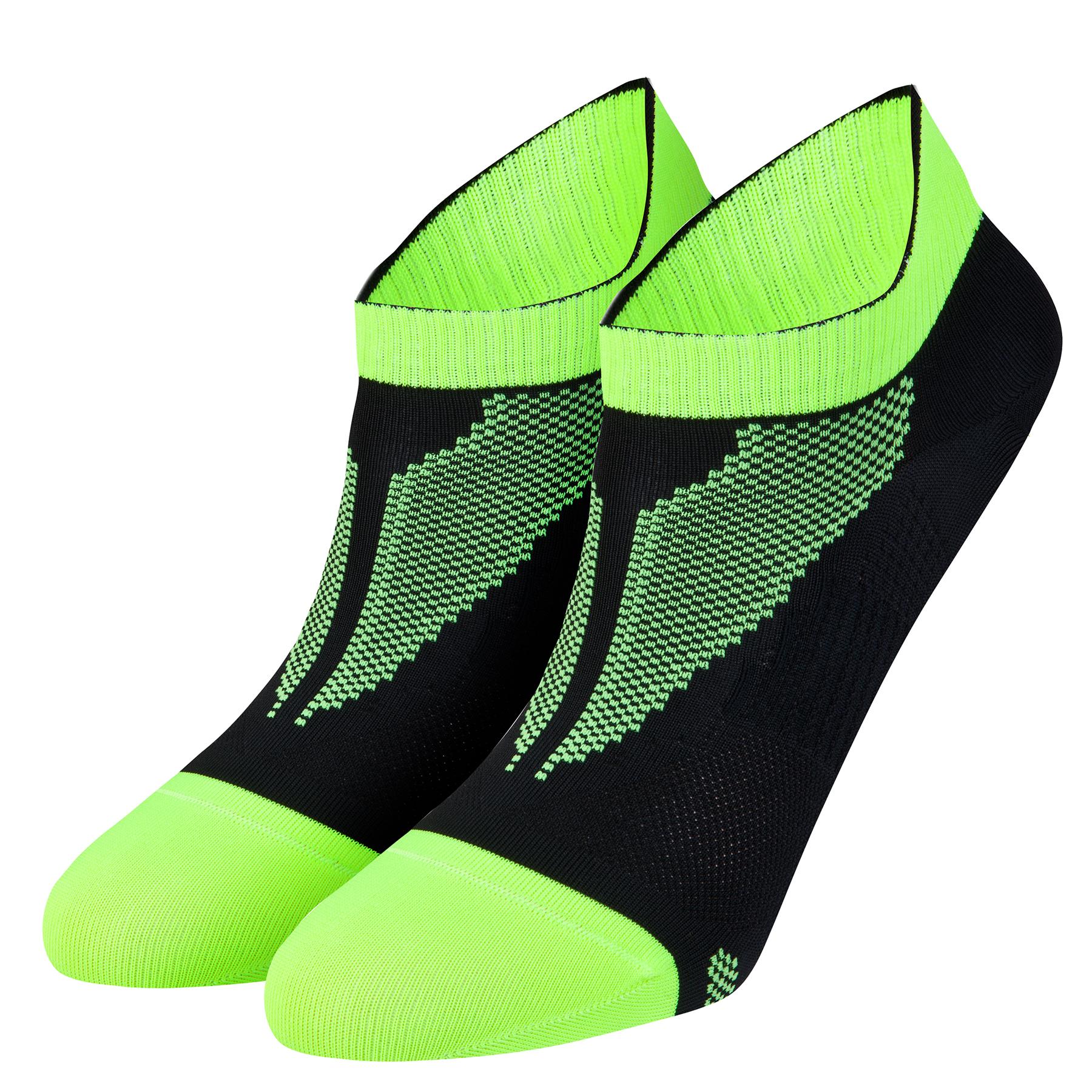 Nike Elite Run Lightweight No Show Socks Black