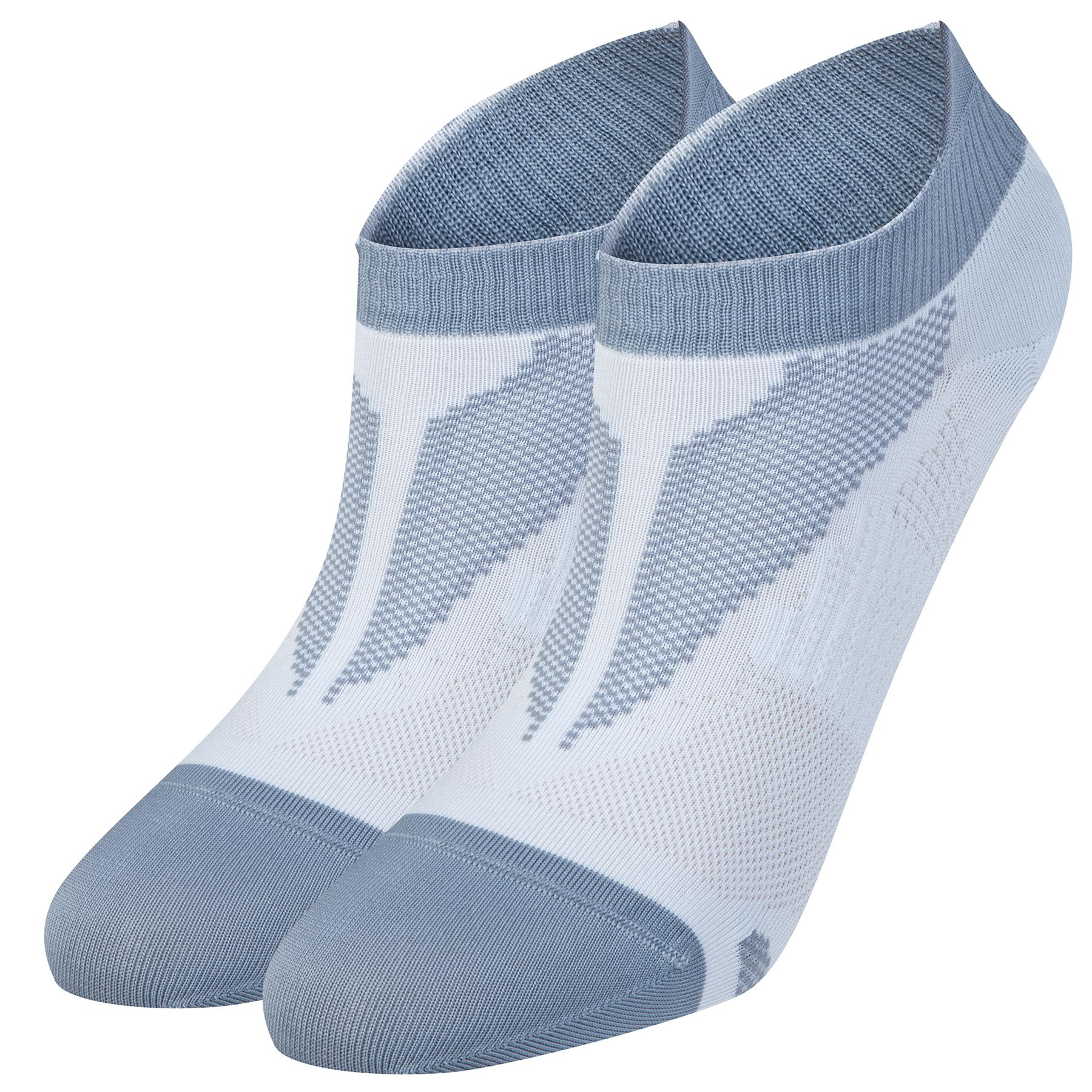 Nike Elite Run Lightweight No Show Socks White