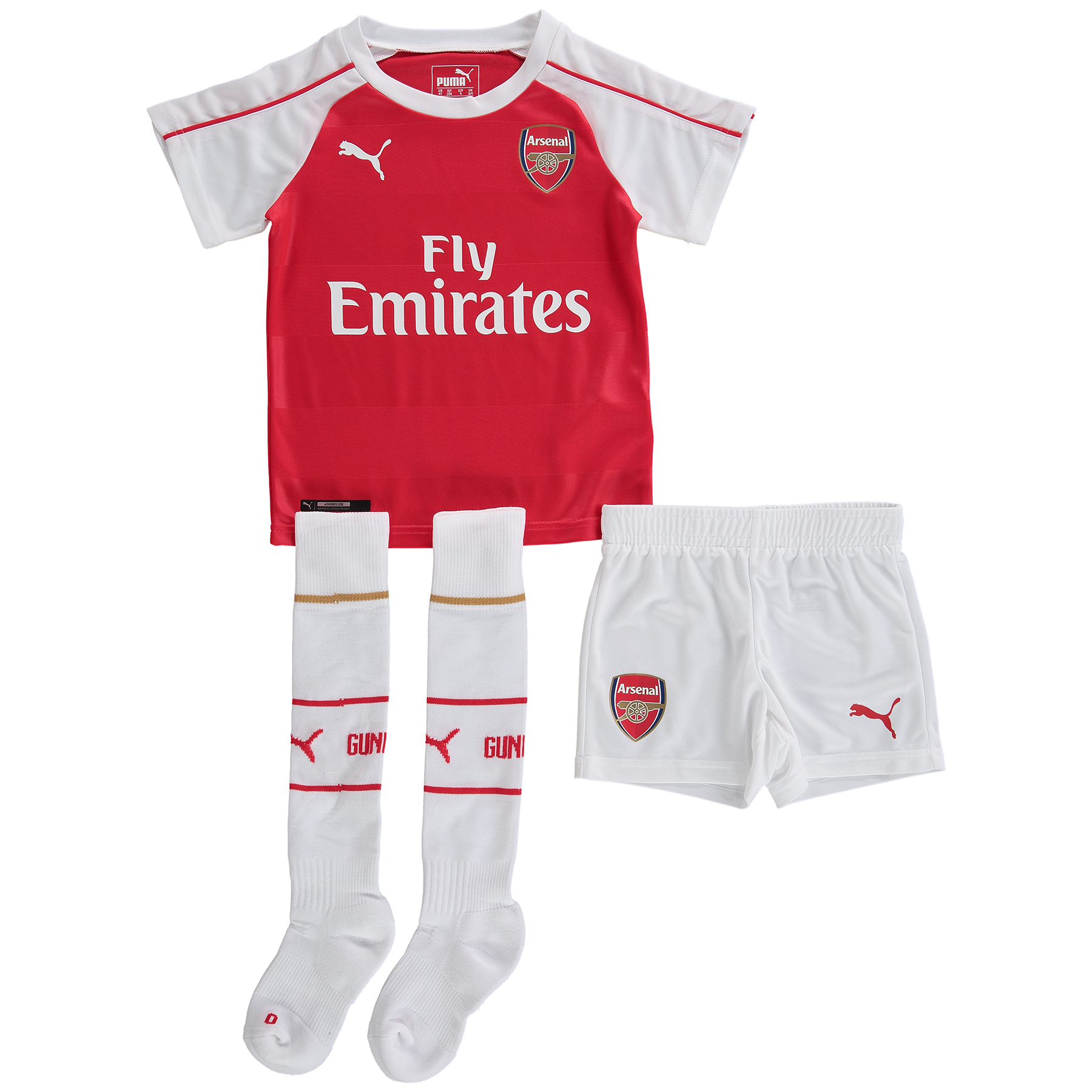 Arsenal Home Mini Kit 201516 Red