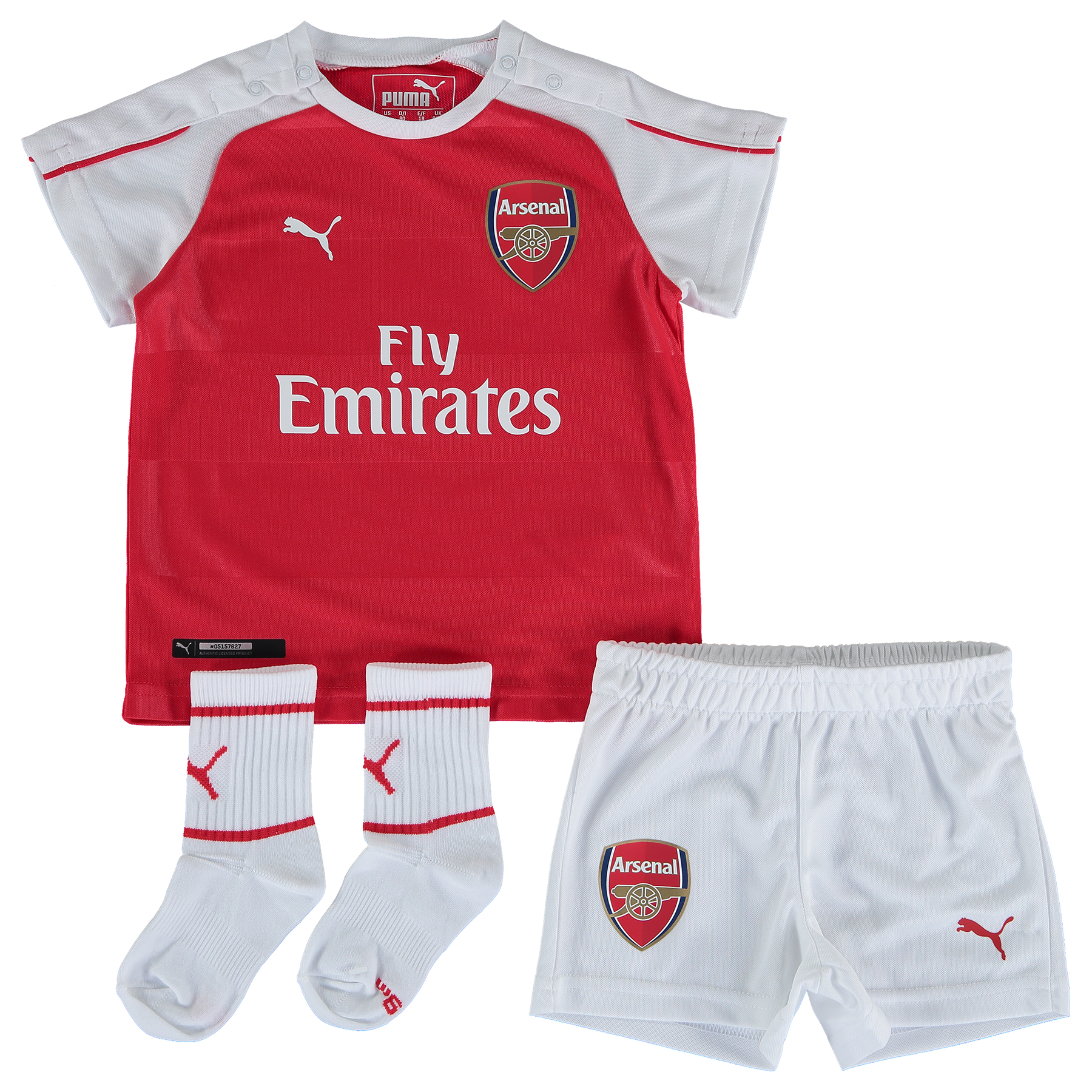 Arsenal Home Baby Kit 201516 Red