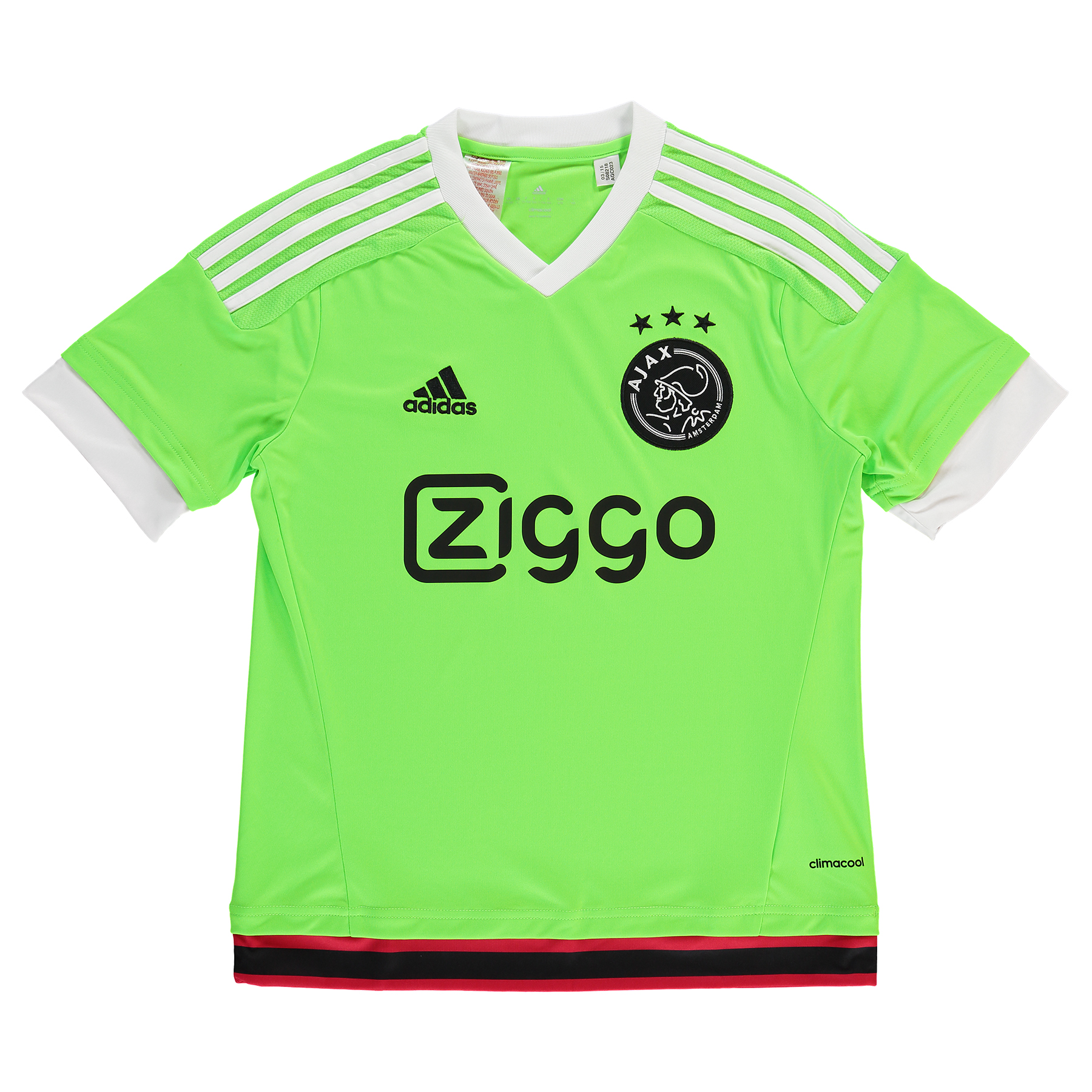 Ajax Away Shirt 201516  Kids Green