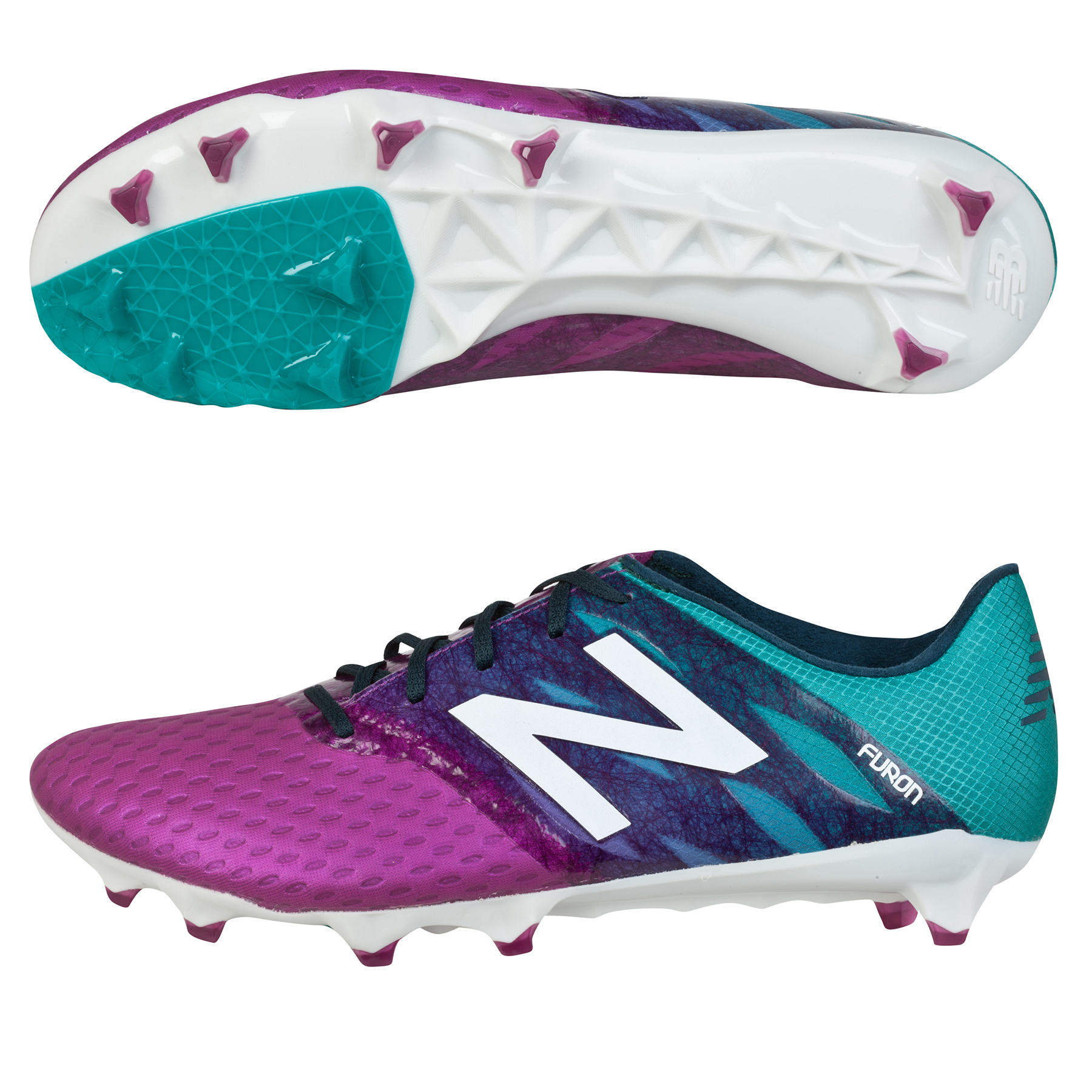 New Balance Furon Pro Firm Ground Football Boots Purple