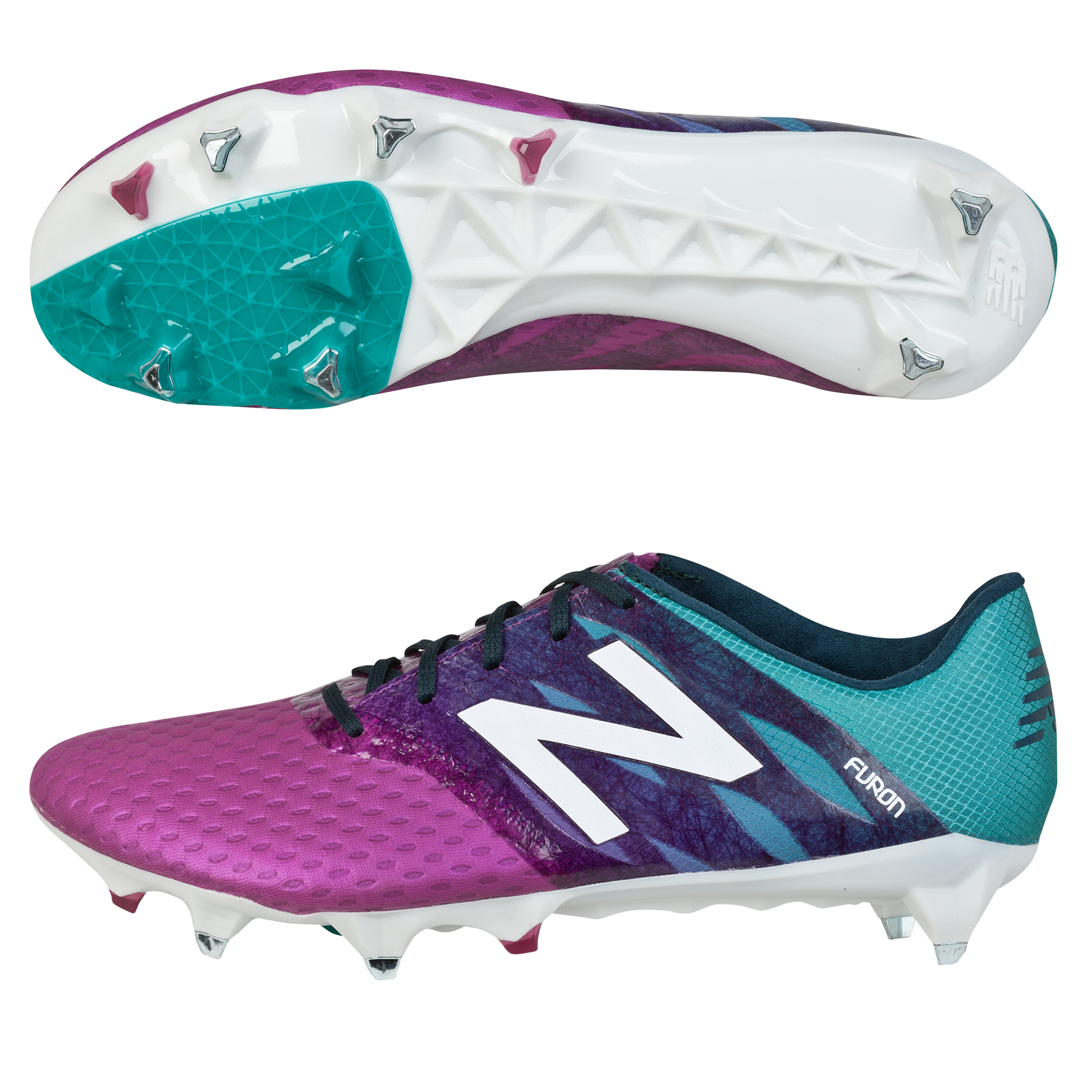New Balance Furon Pro Soft Ground Football Boots Purple