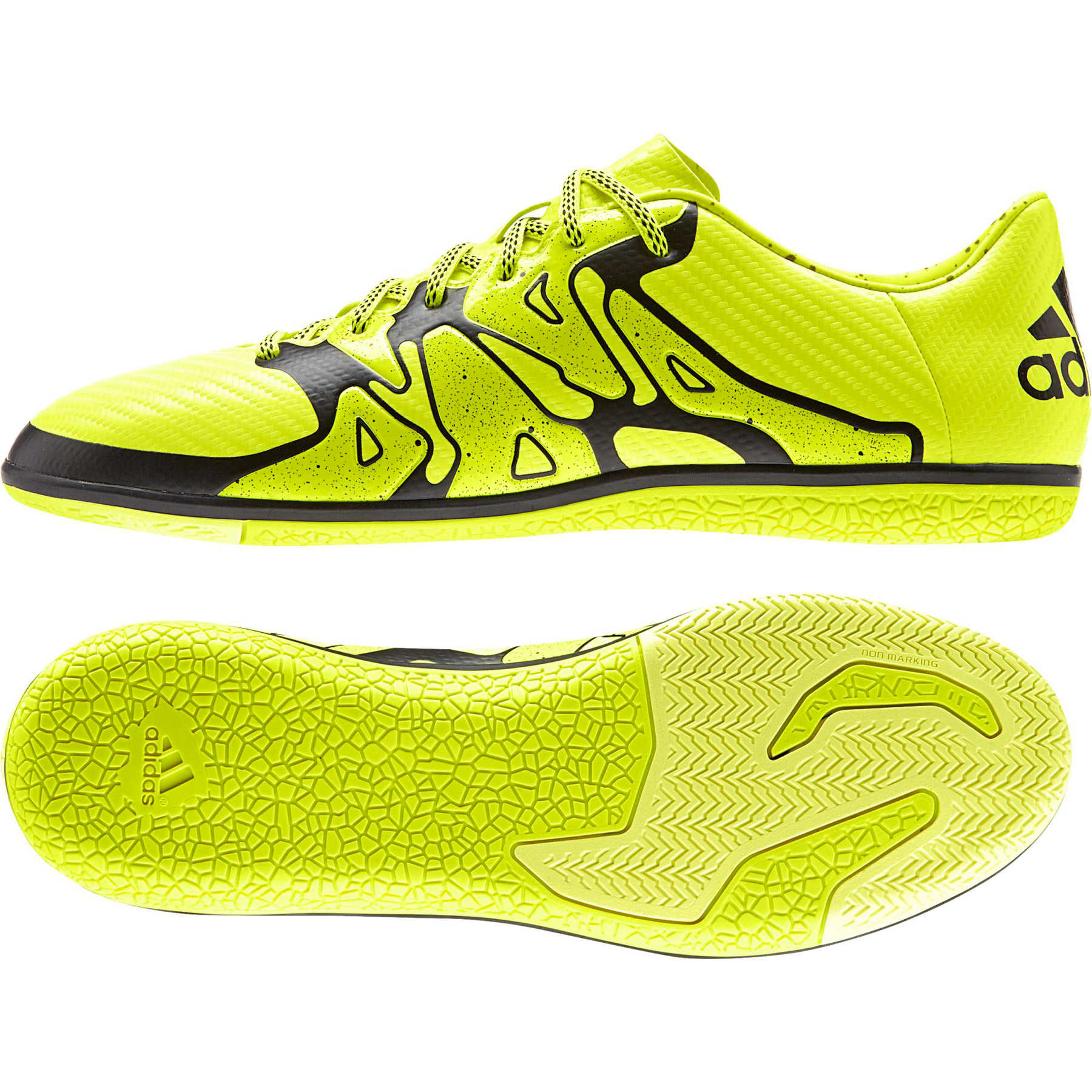 adidas X 15.3 Indoor Trainers Yellow