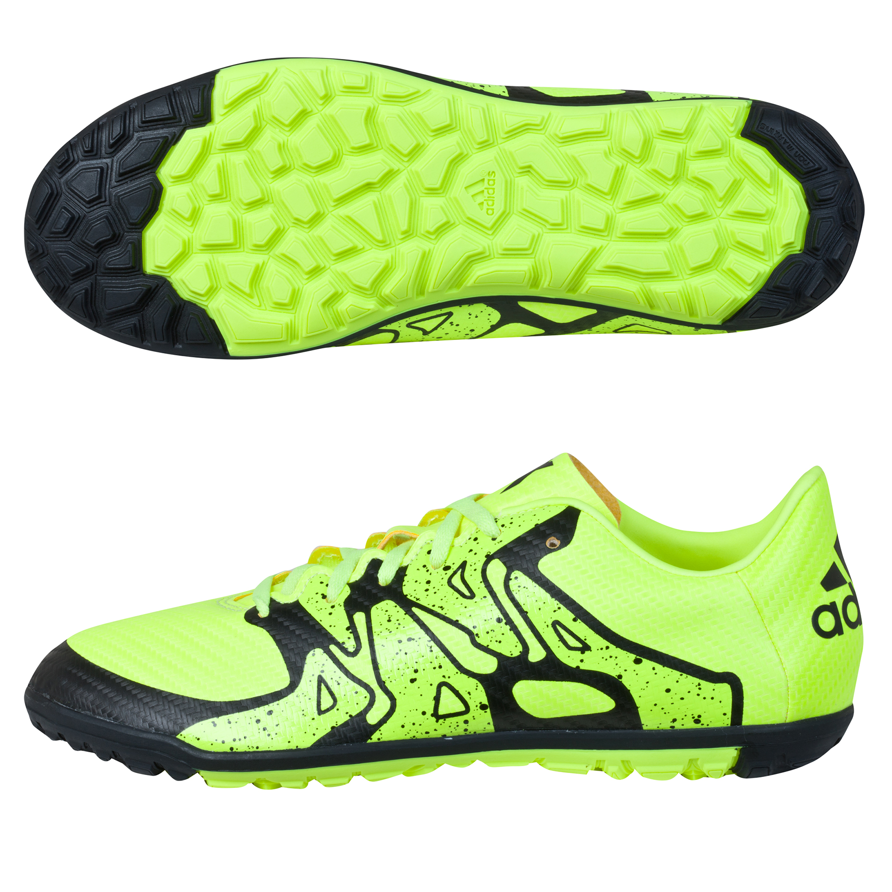 adidas X 15.3 Astroturf Trainers  Kids Yellow
