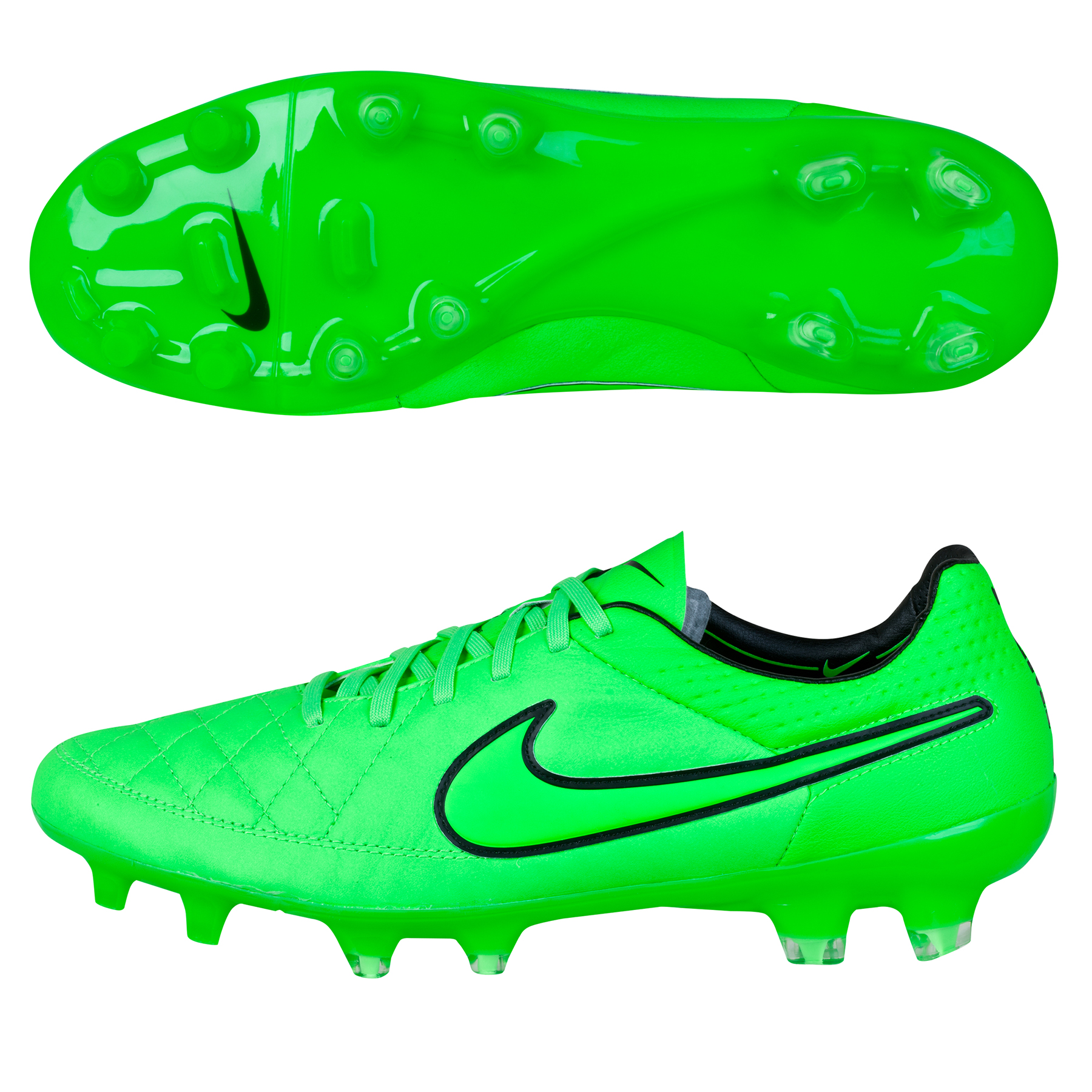 Nike Tiempo Legend V FG Lt Green