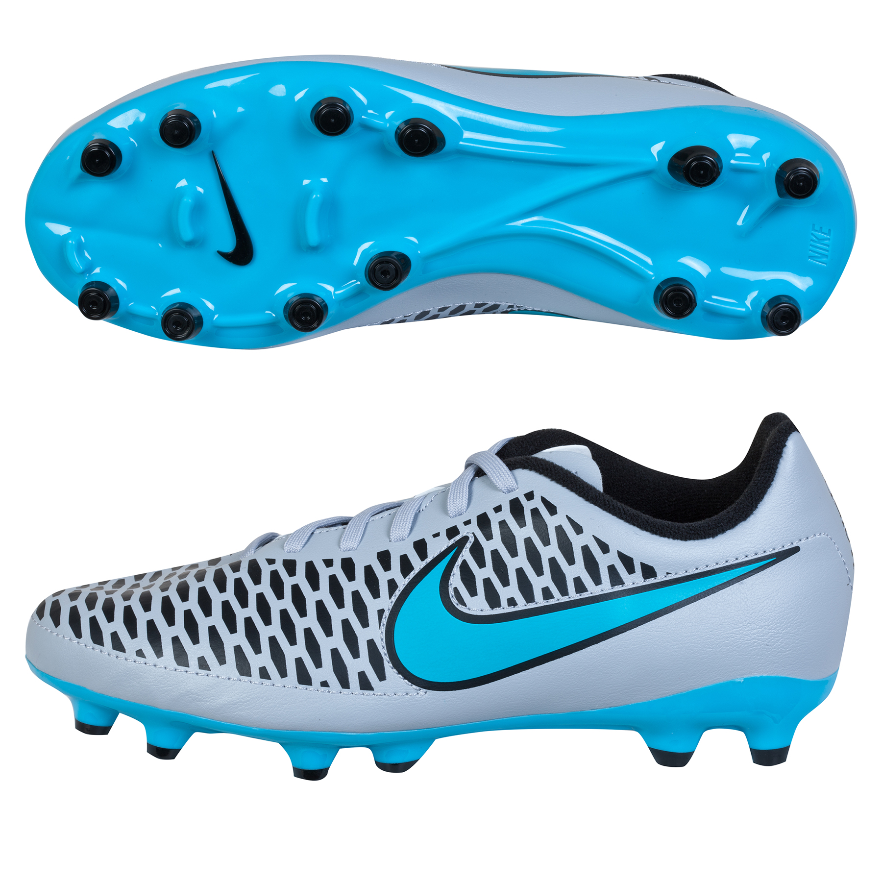 Nike Magista Onda Firm Ground Football Boots  Kids Lt Grey