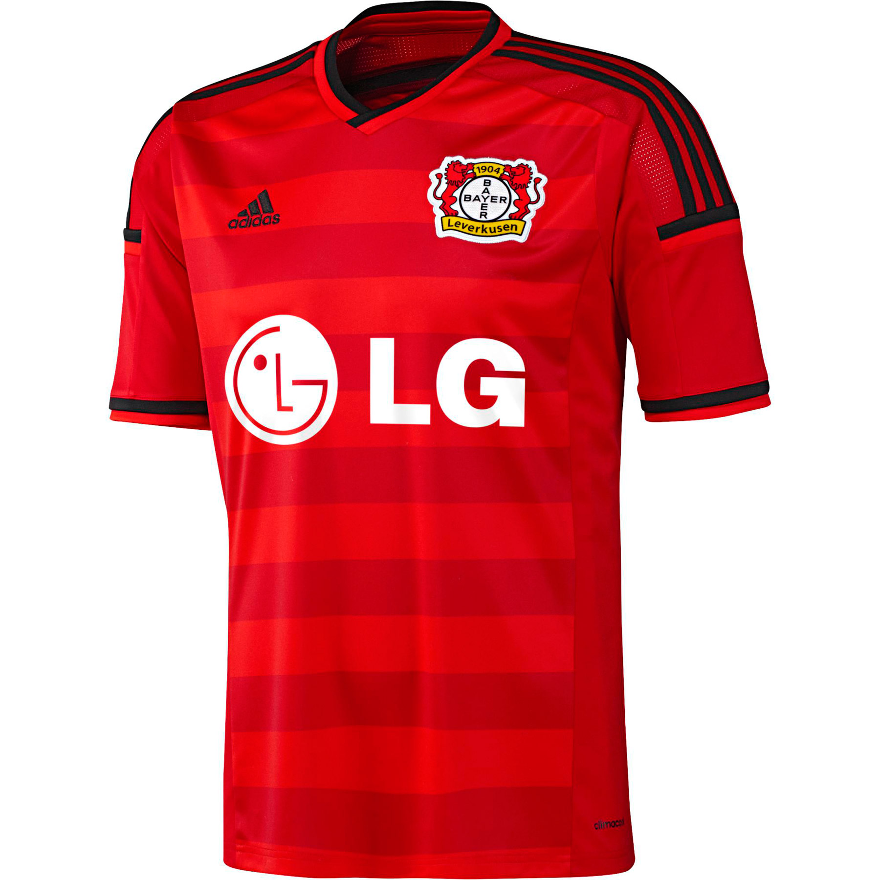 Bayer Leverkusen Away Shirt 201516 Red