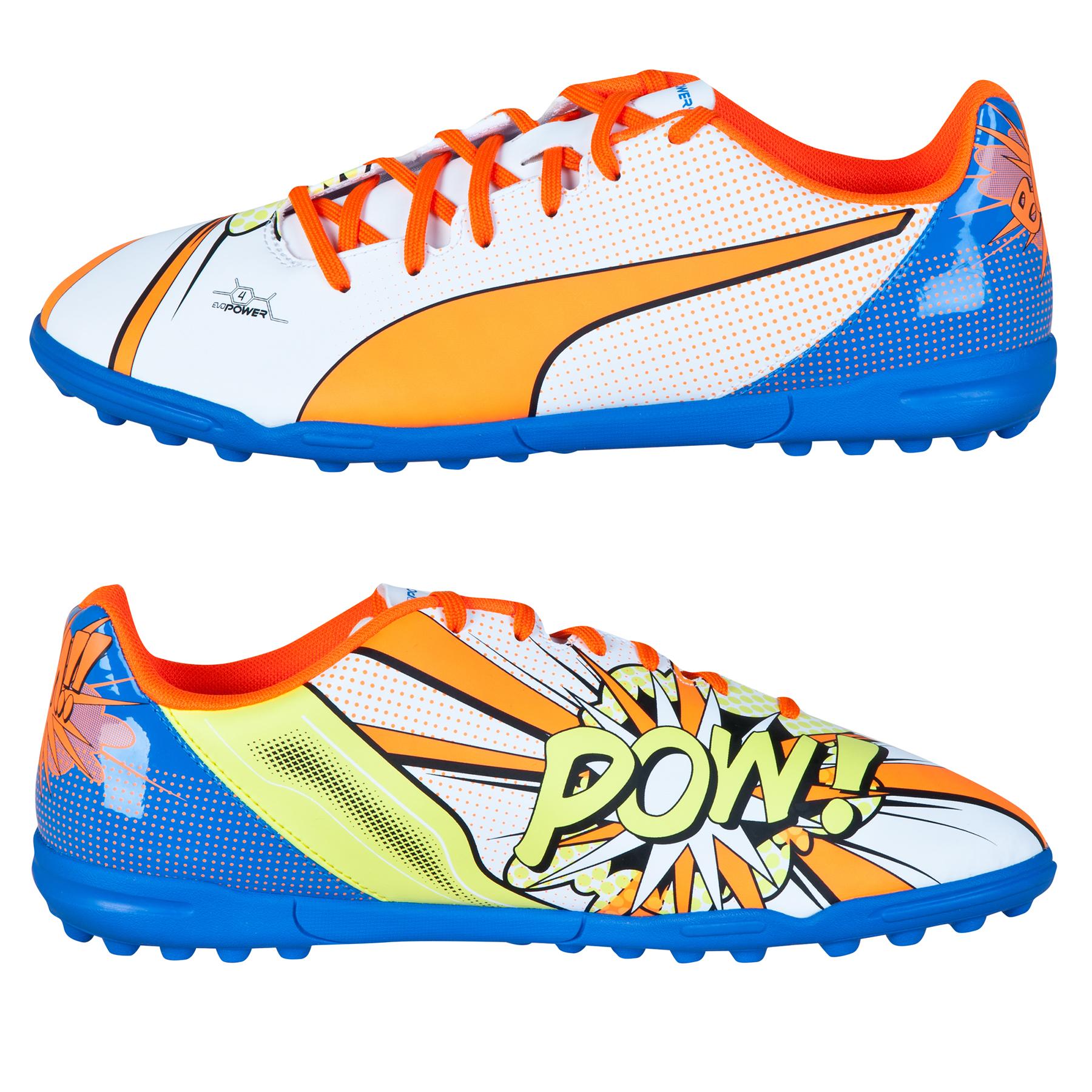 Puma evoPOWER 4.2 POP Astroturf Trainers White
