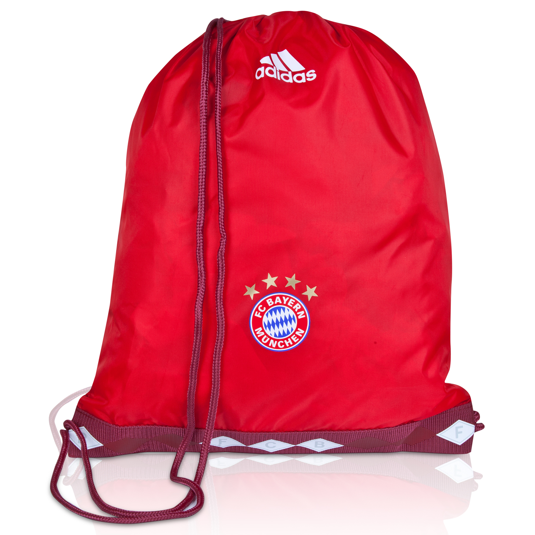 Bayern Munich Gym Bag Red