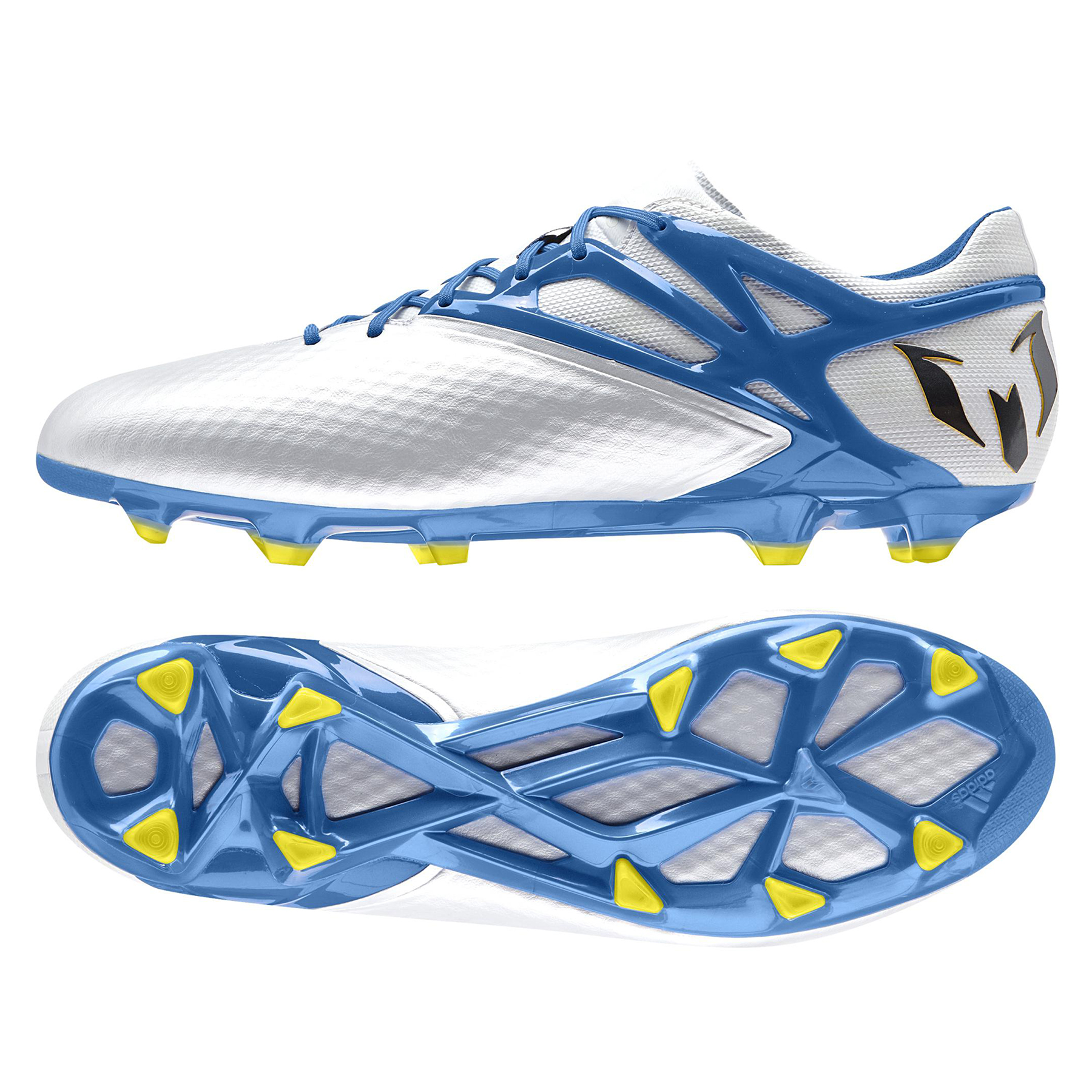 adidas Messi 15.1 Firm Ground Football Boots White