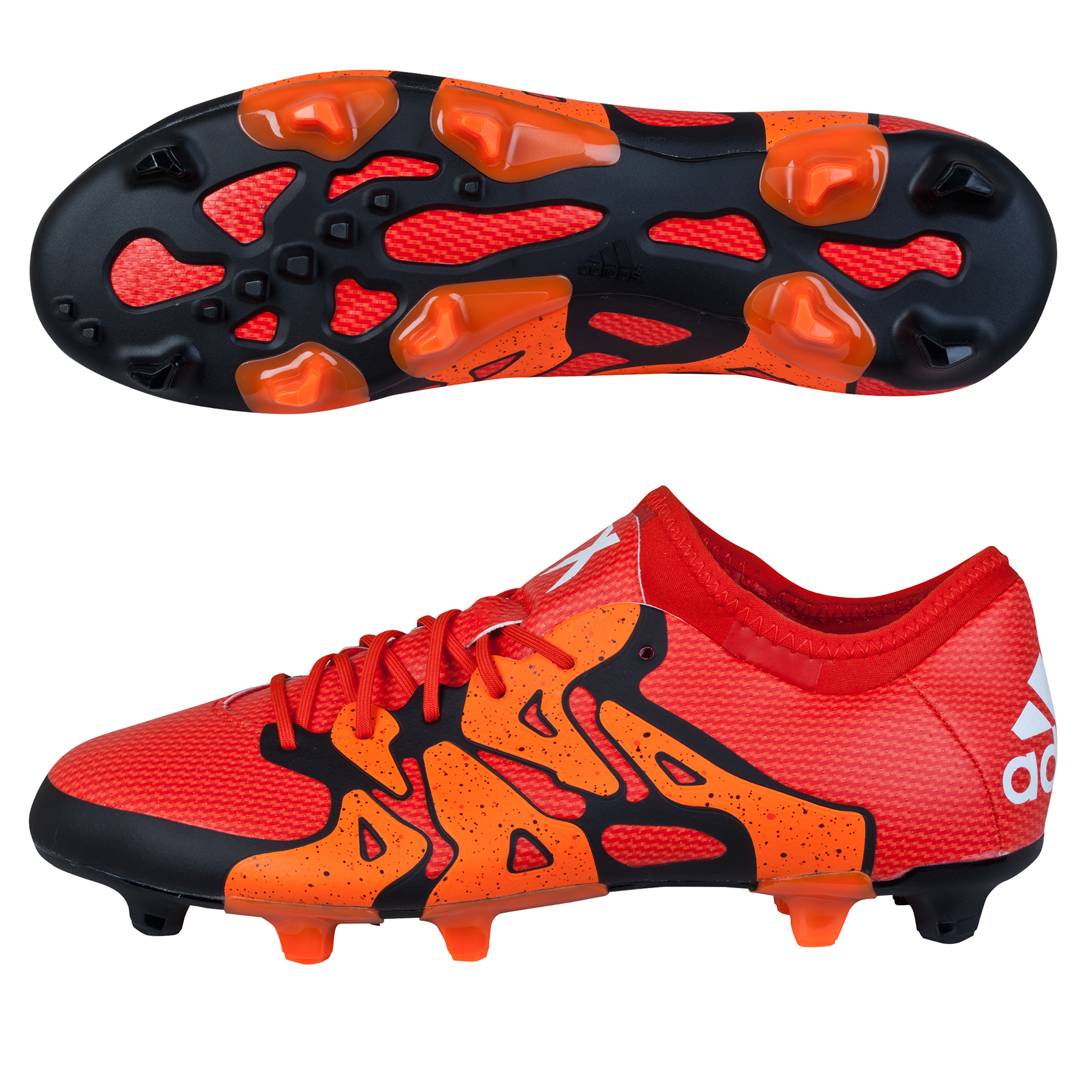 adidas X 15.1 Firm Ground Football Boots Orange