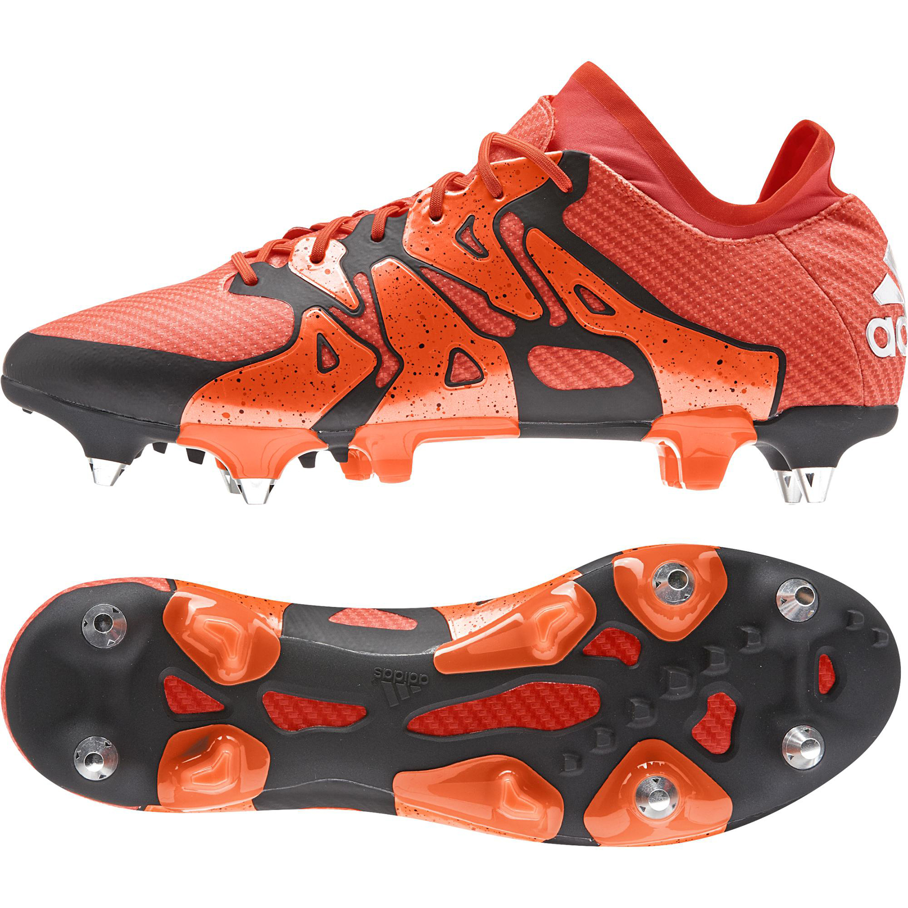 adidas X 15.1 Soft Ground Football Boots Orange