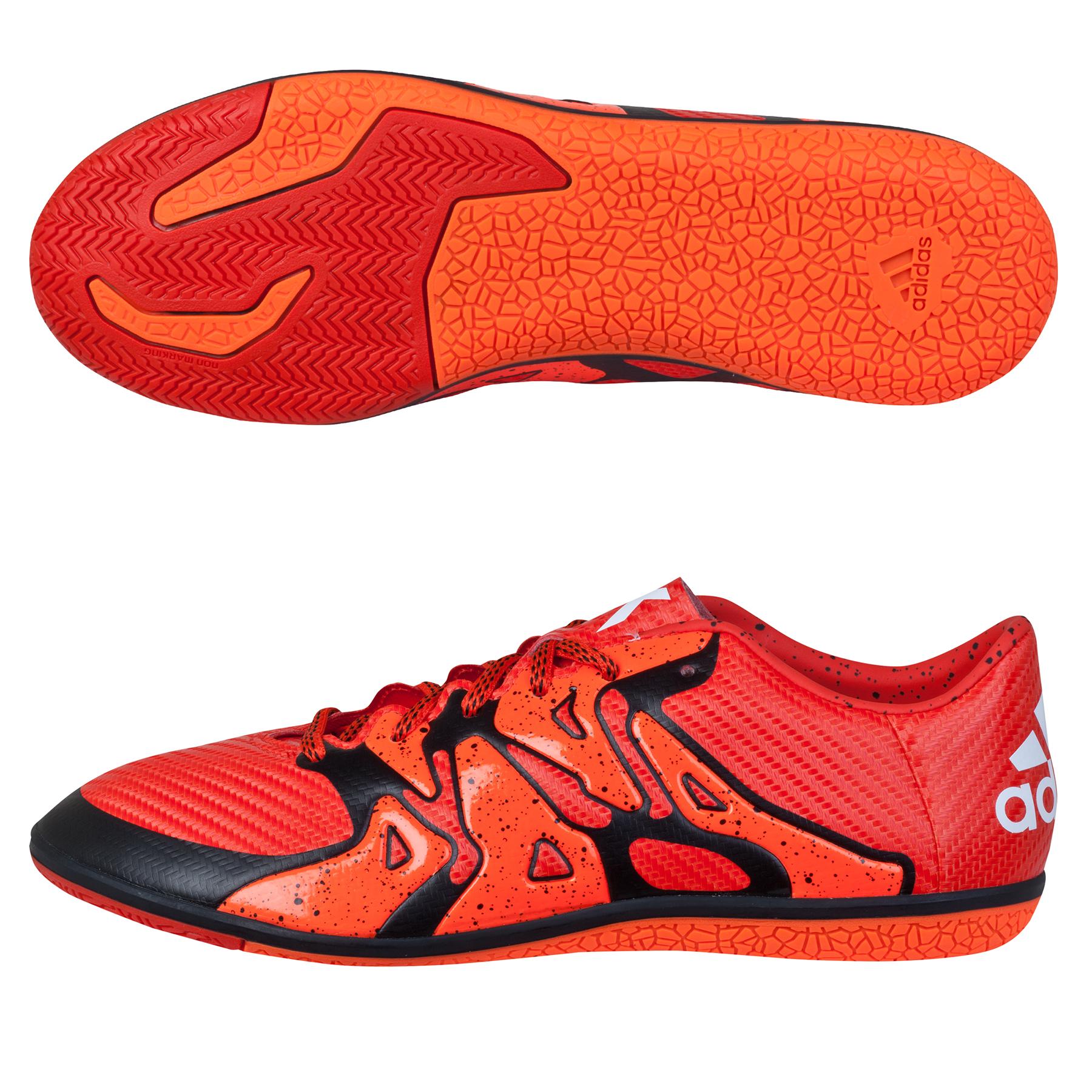 adidas X 15.3 Indoor Trainers  Kids Orange