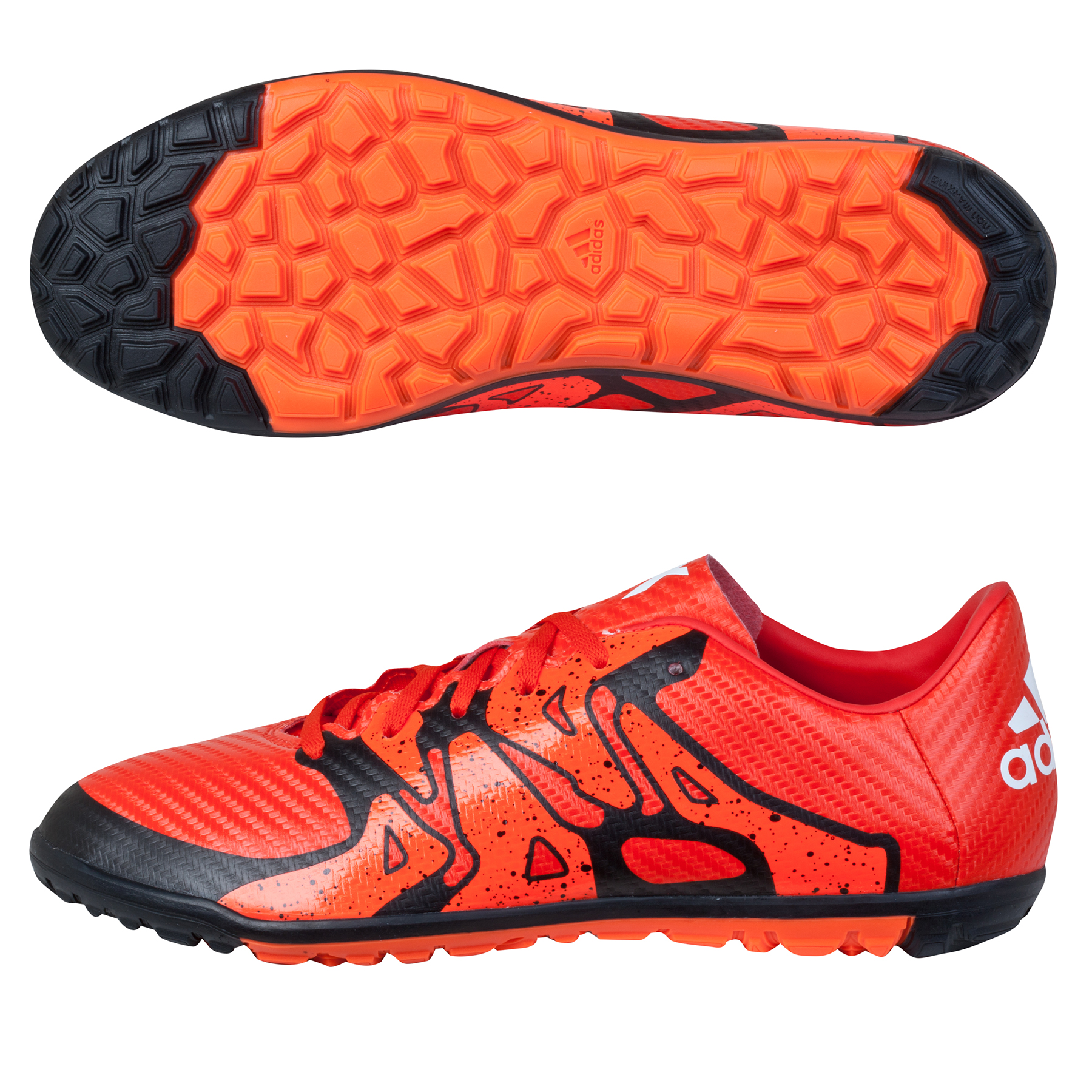 adidas X 15.3 Astroturf Trainers  Kids Orange