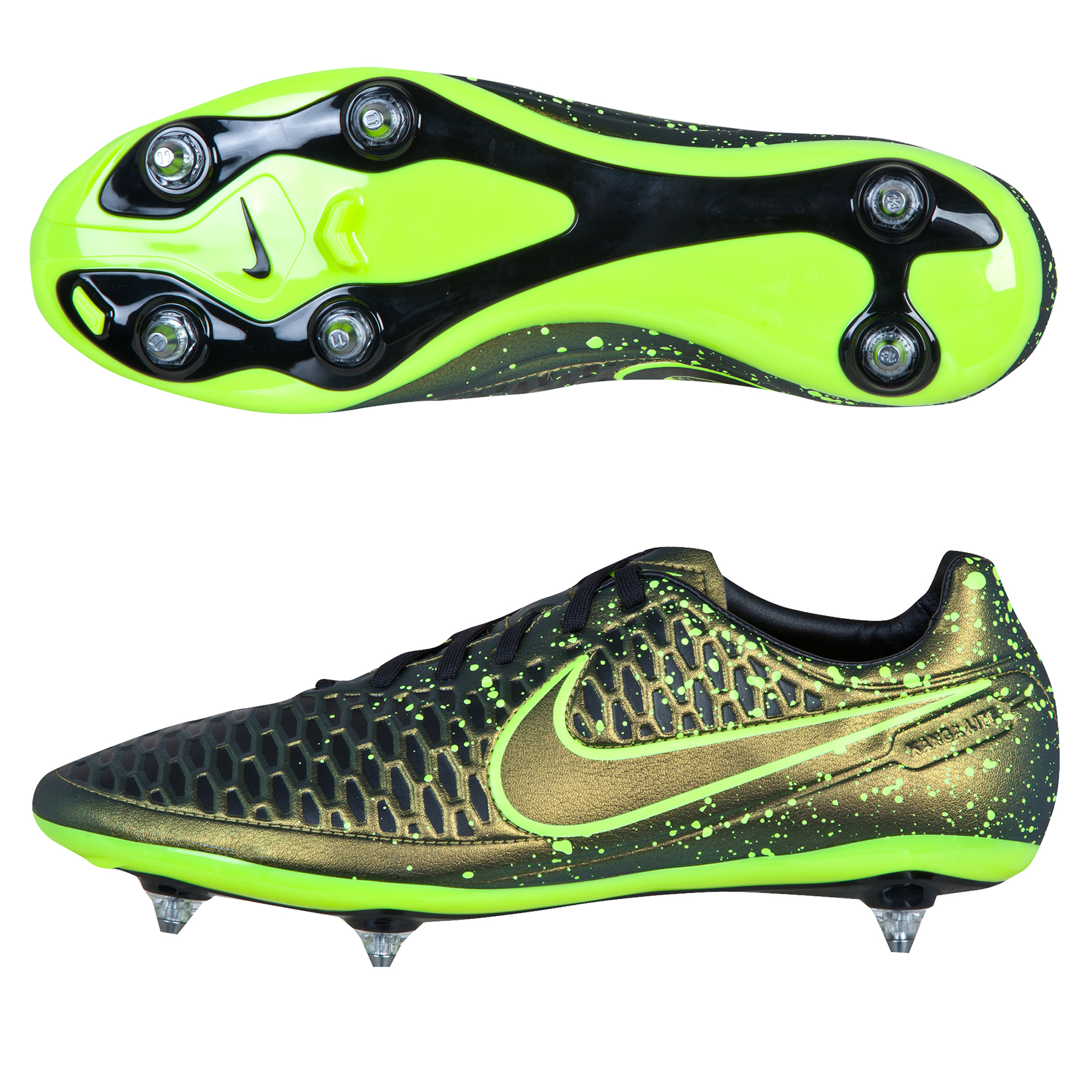 Nike Magista Orden Soft Ground Football Boots Yellow