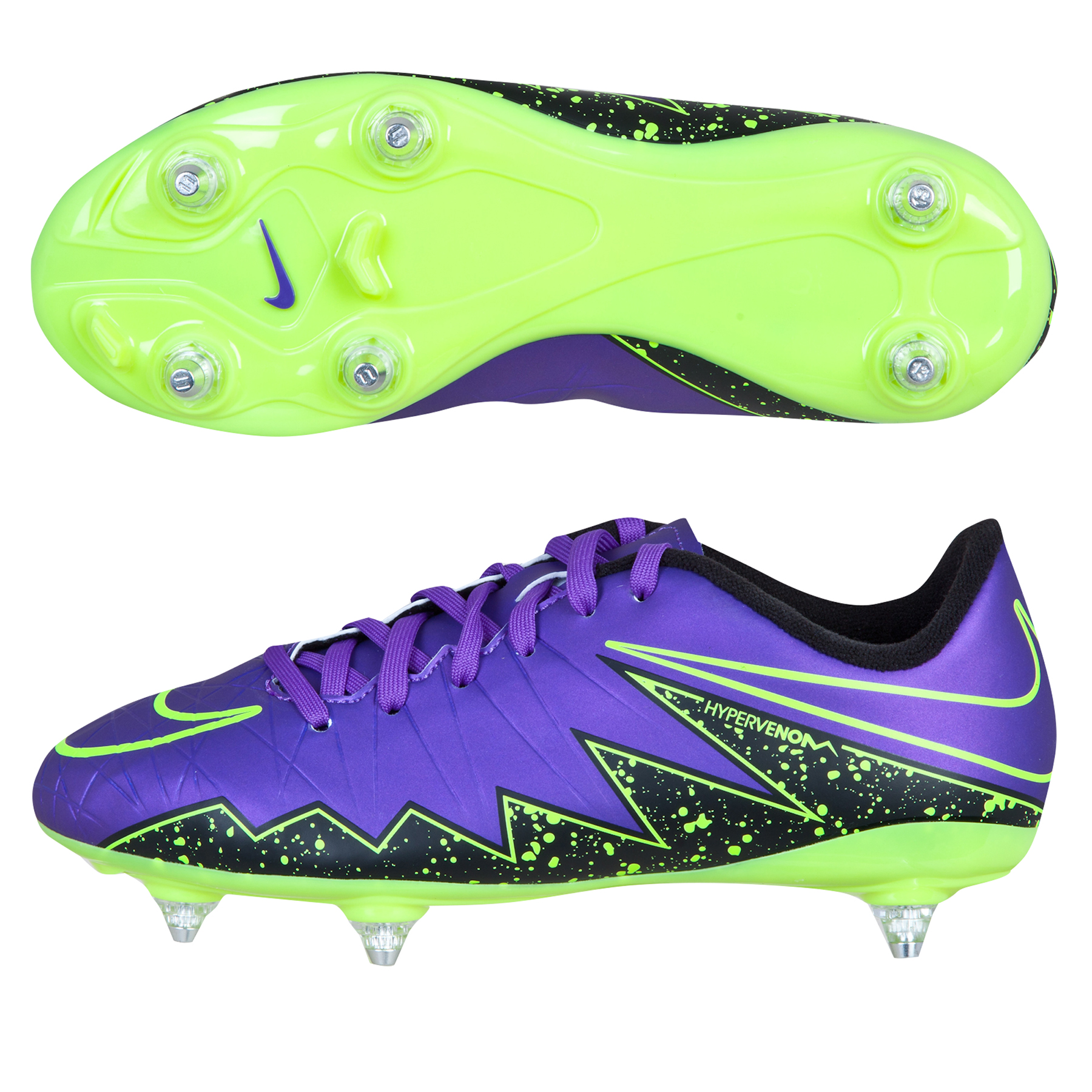 Nike Hypervenom Phelon II SG Kids Purple