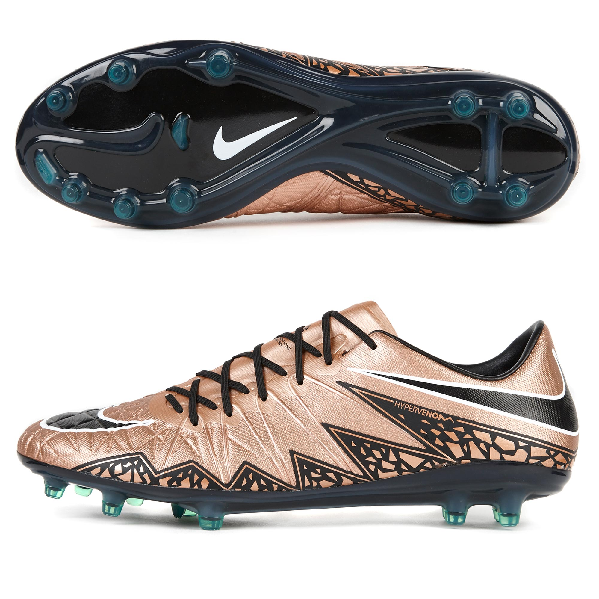 Nike Hypervenom Phinish FG Copper