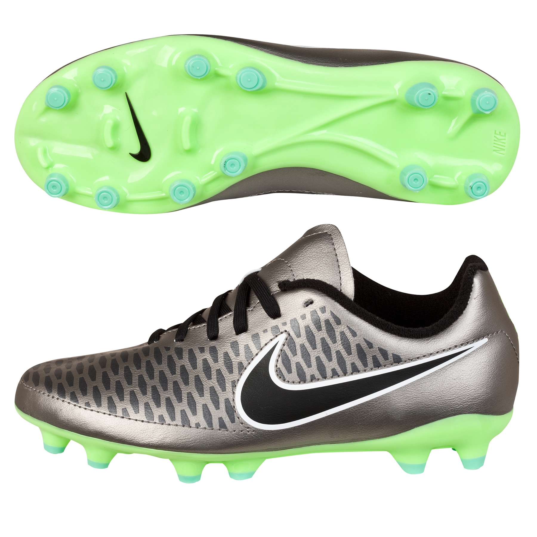 Nike Magista Onda Firm Ground Football Boots  Kids Silver