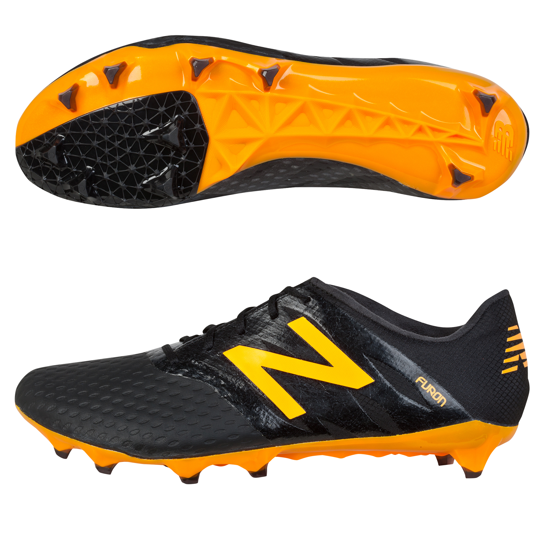 New Balance Furon Pro Firm Ground Football Boots Black
