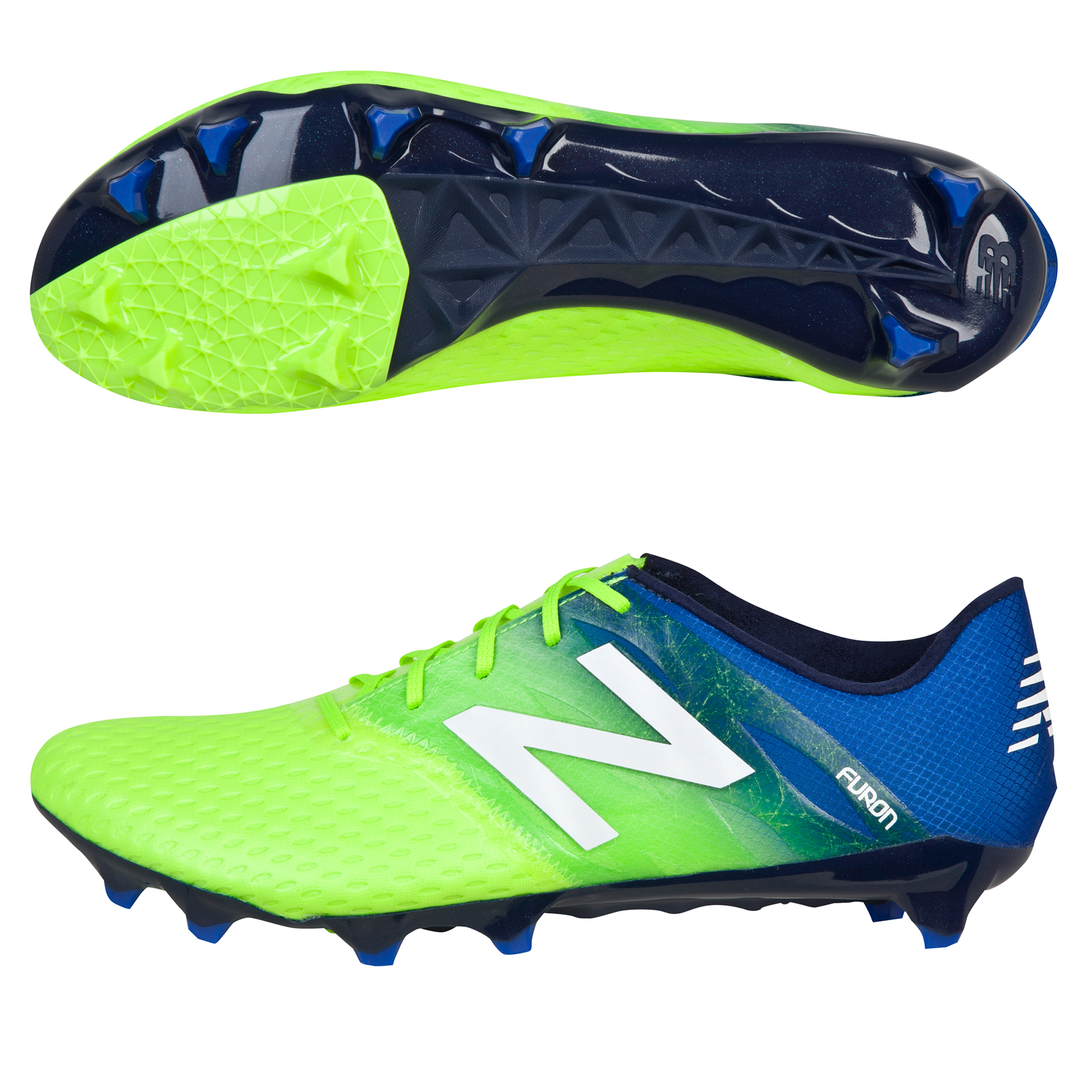 New Balance Furon Pro Firm Ground Football Boots Green