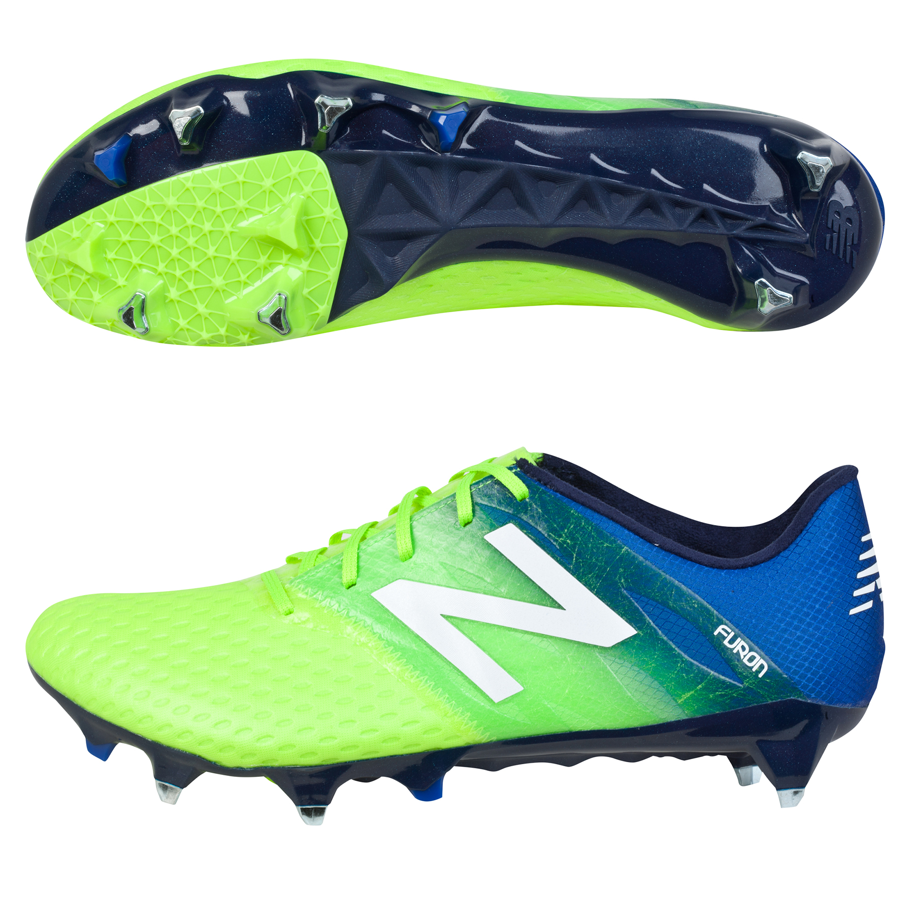 New Balance Furon Pro Soft Ground Football Boots Green