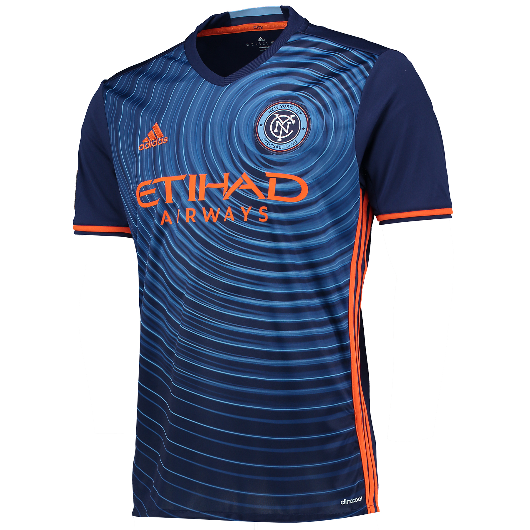 New York City FC Away Shirt 2016-17 - Kids with Herrera 30 printing