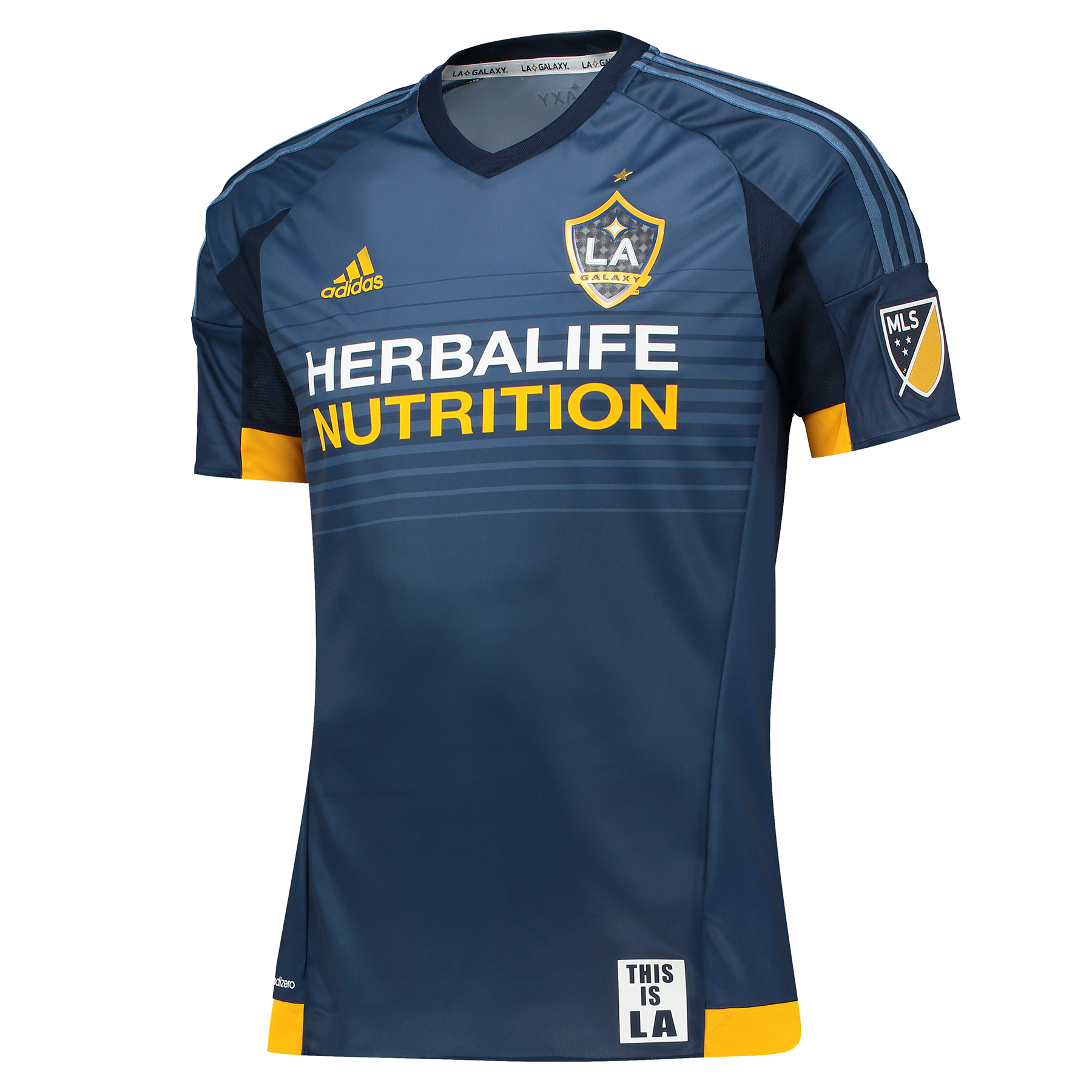 LA Galaxy Authentic Away Shirt 201516