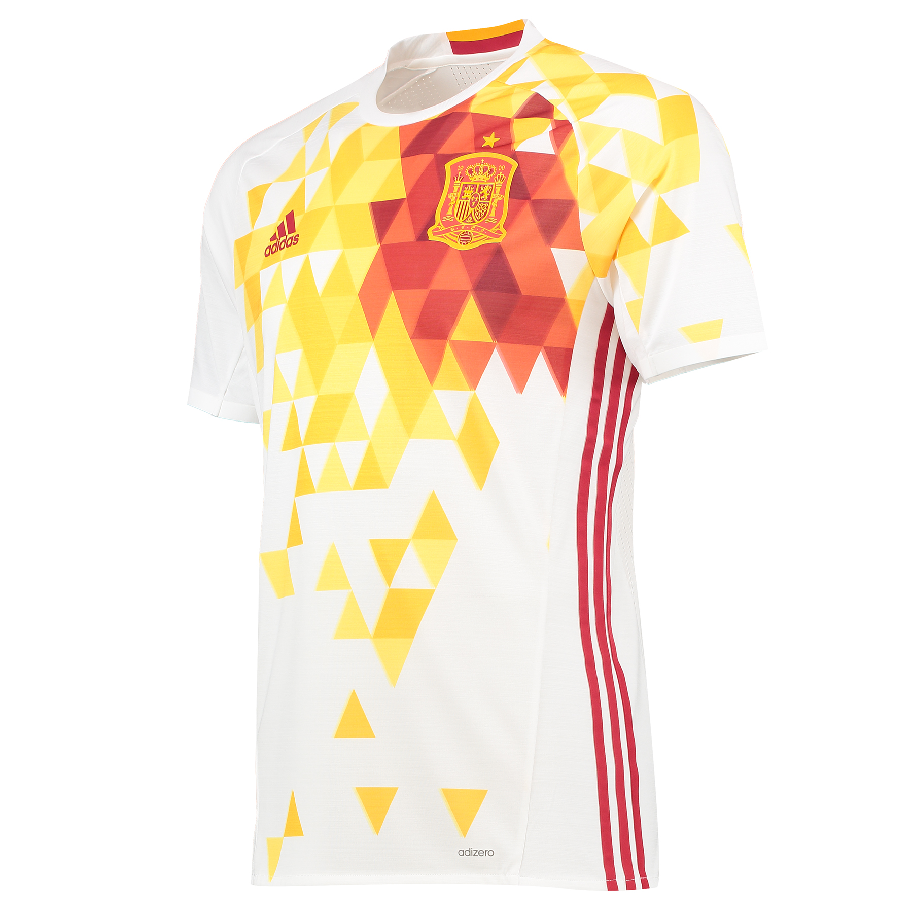 Football Spain Away Authentic Shirt 2016 White