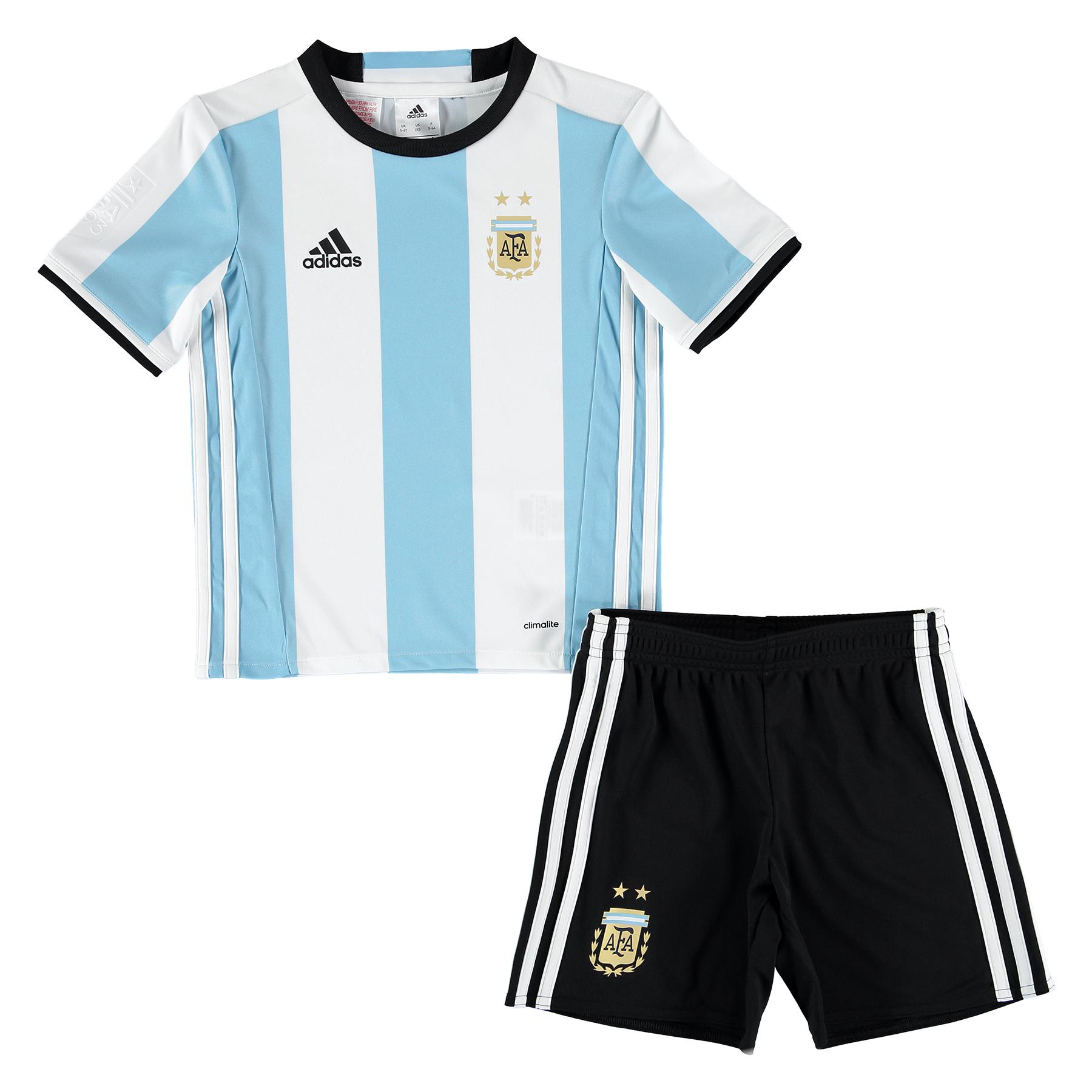 Argentina Home Minikit 2016 Lt Blue