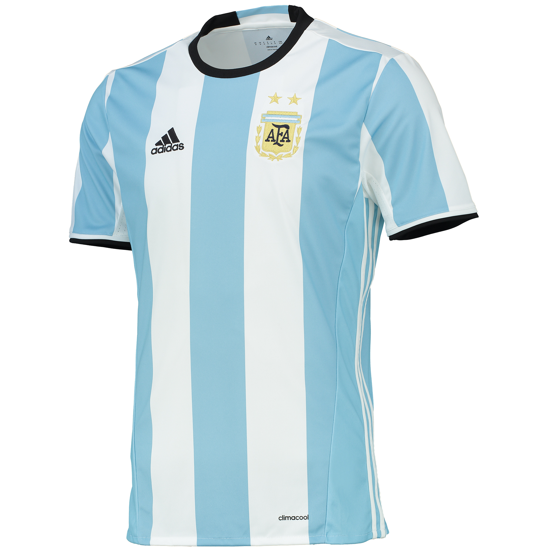 Argentina Home Shirt 2016 Lt Blue