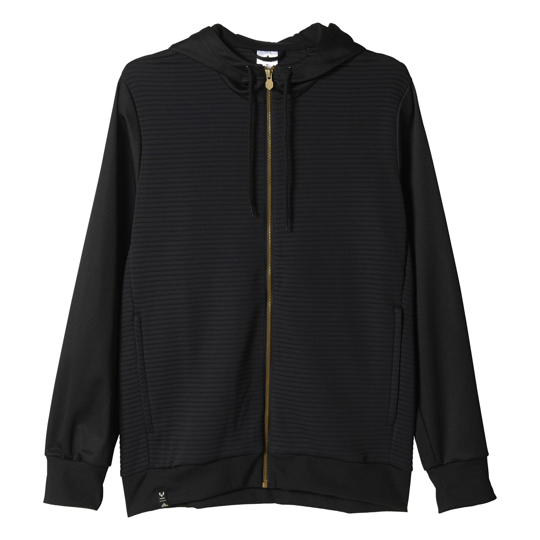adidas Messi Hoody Jacket Black