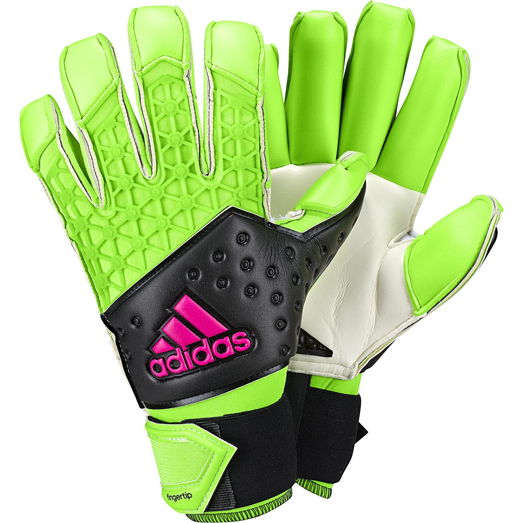 adidas Ace Zones FT Goalkeeper Gloves Green
