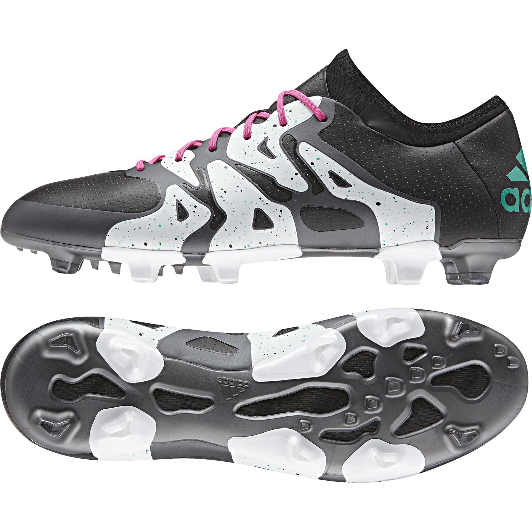 adidas X 15.1 Firm Ground Football Boots Black