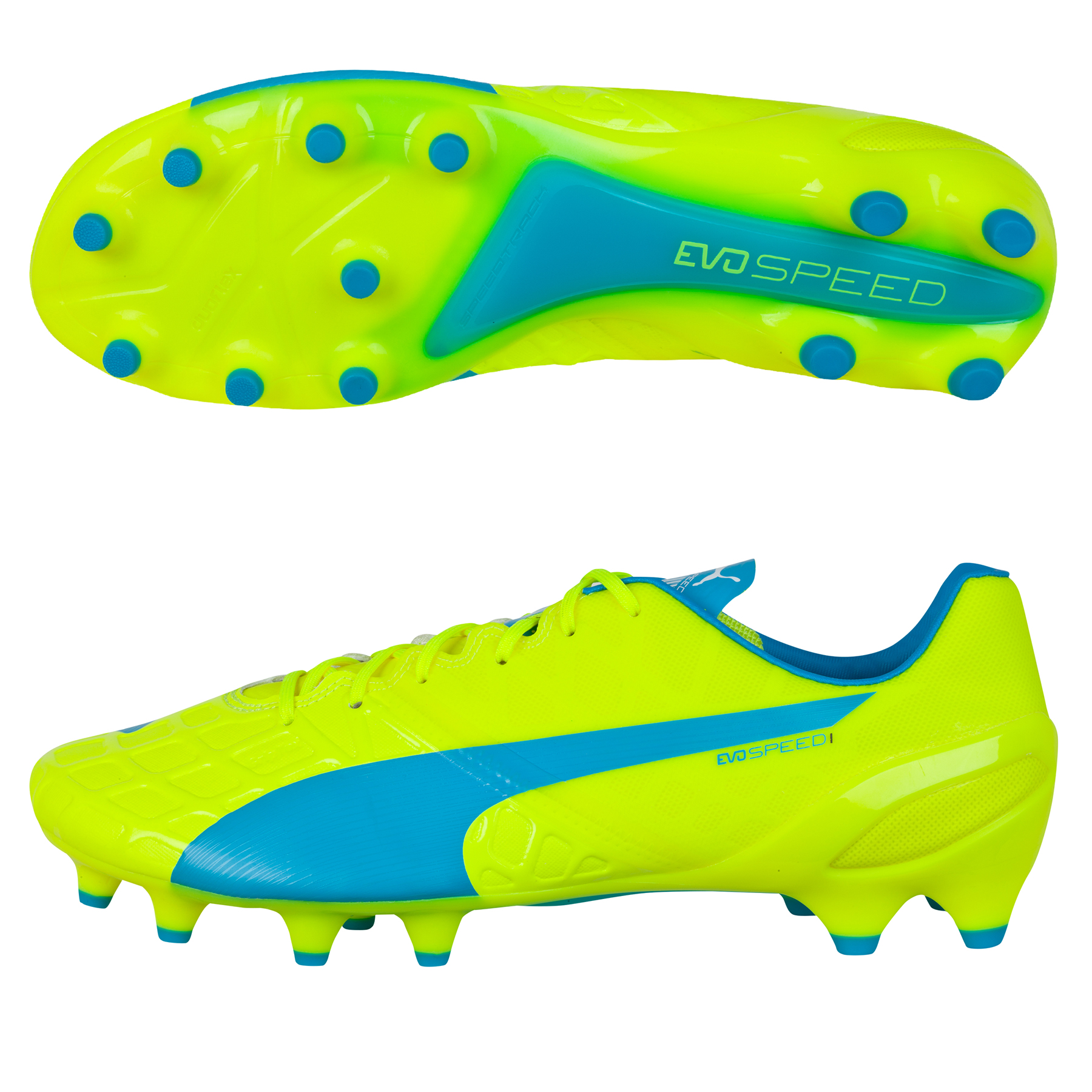 Puma evoSPEED 1.4 FG Yellow