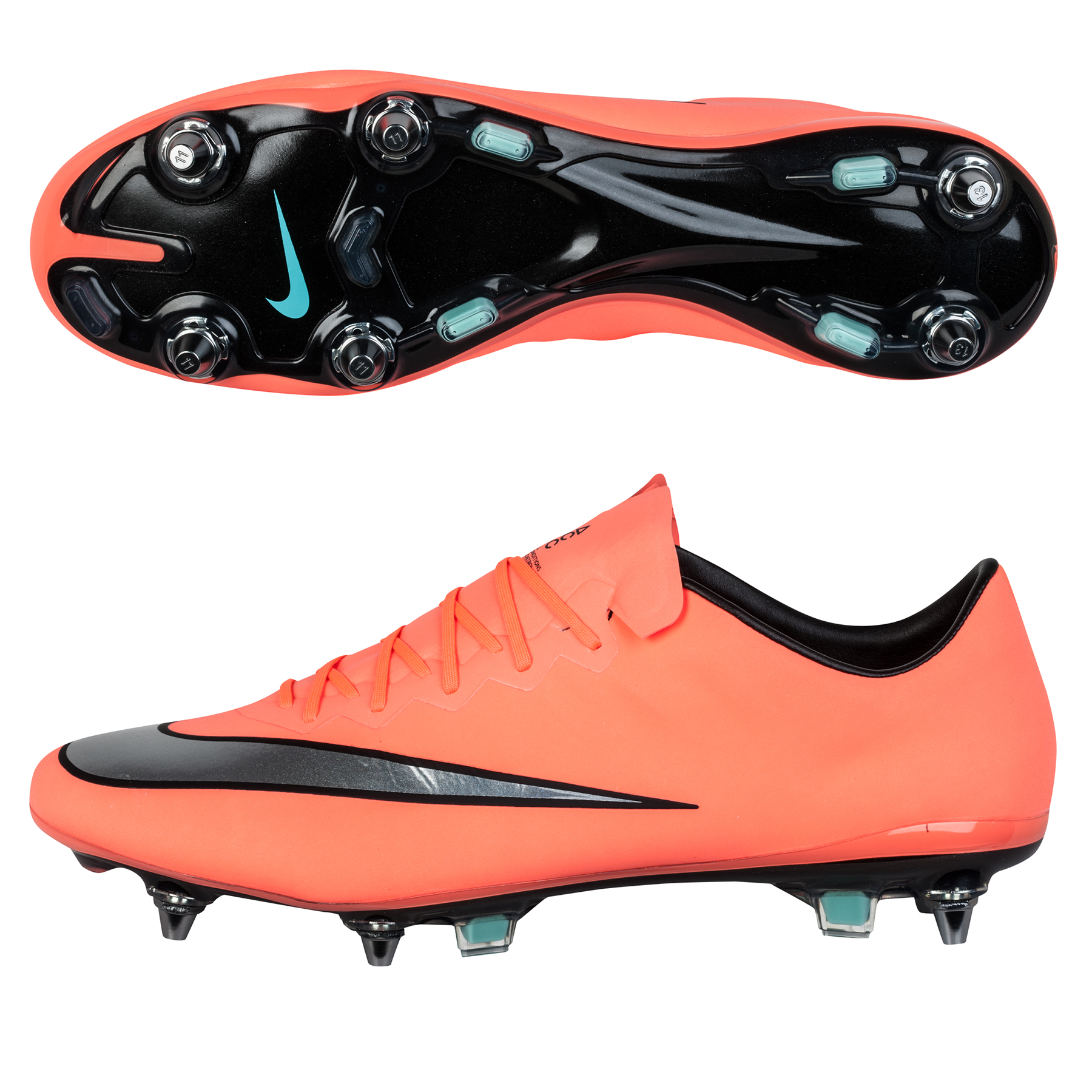 Nike Mercurial Vapor X Soft GroundPro Football Boots Orange