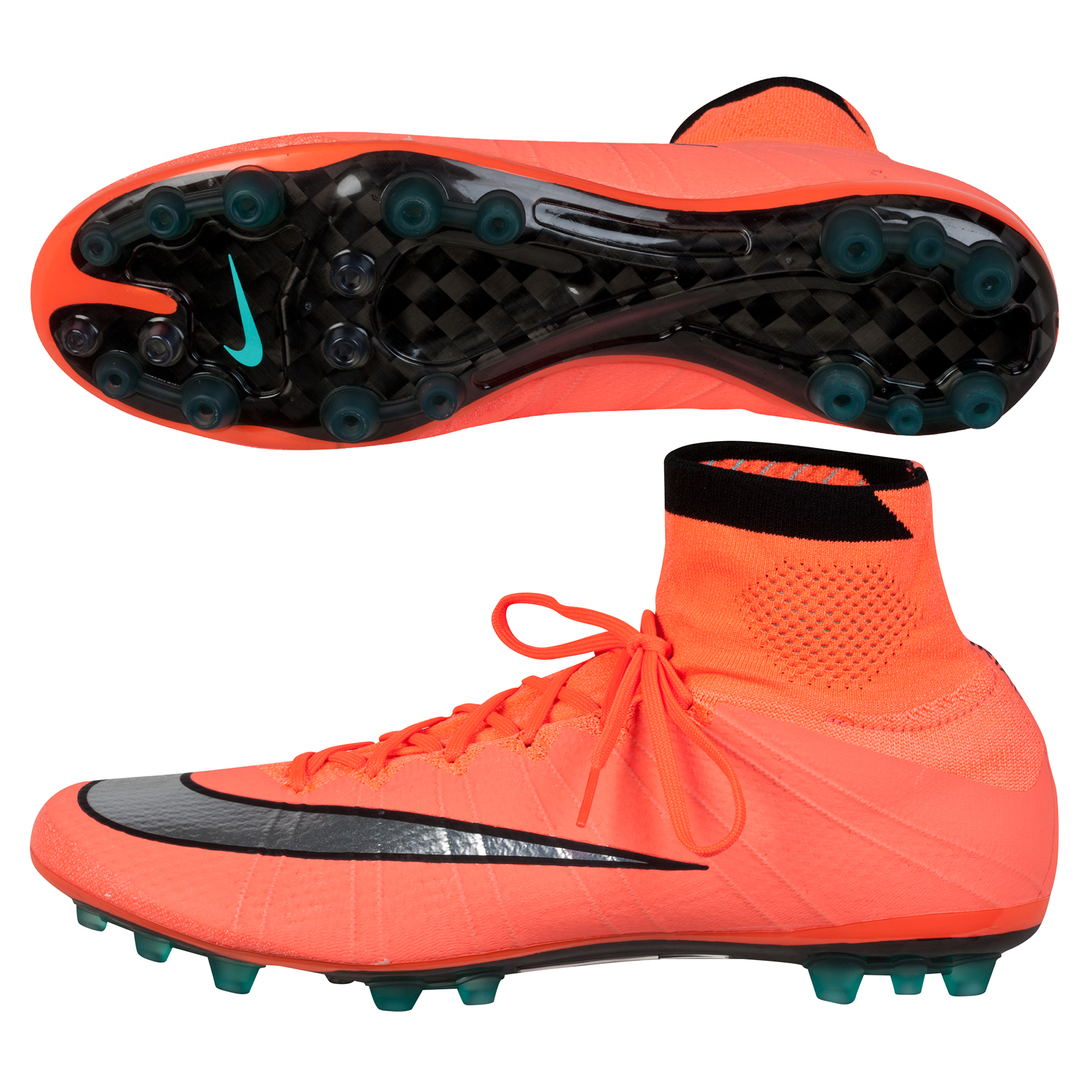Nike Mercurial Superfly Artificial Grass Football Boots Orange