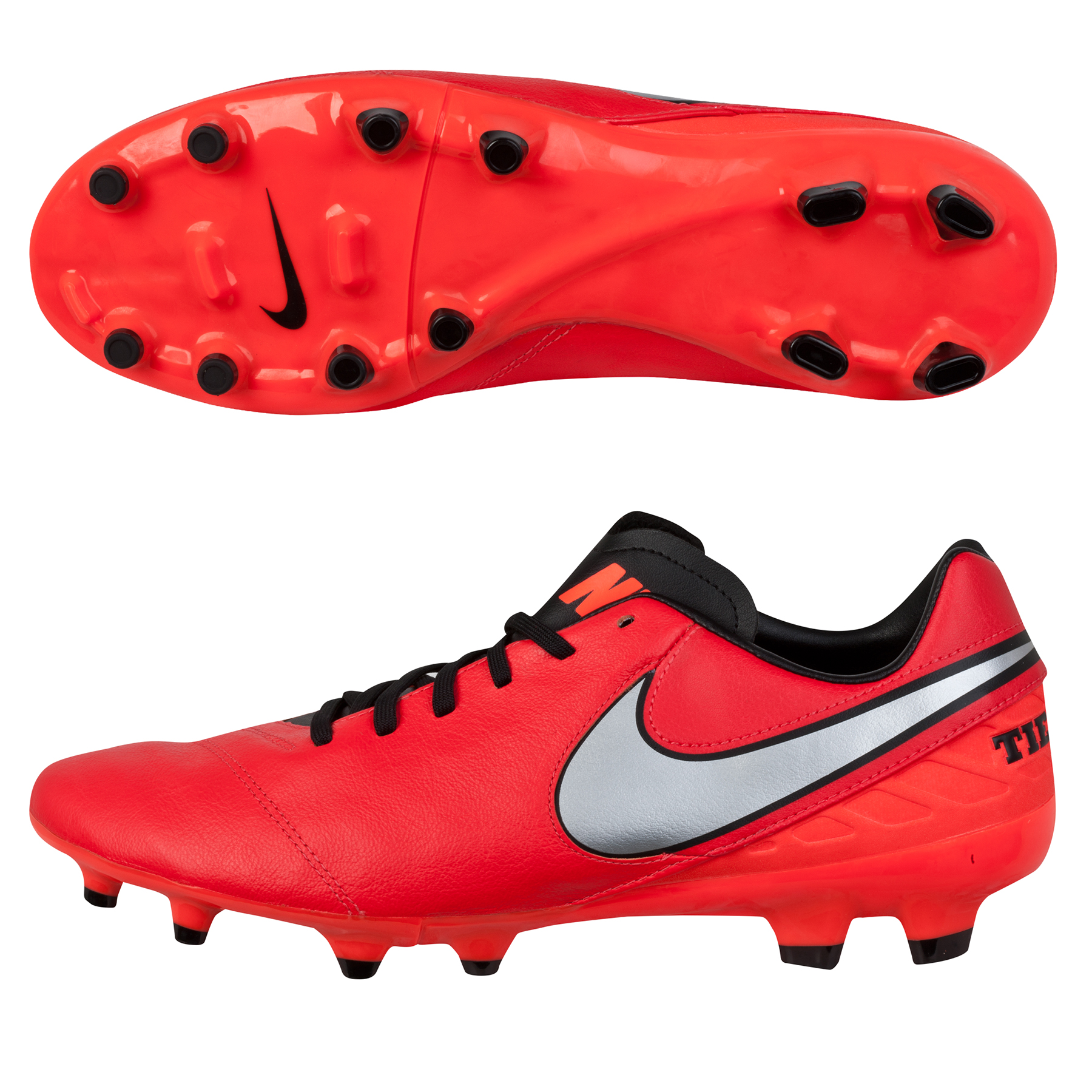 Nike Tiempo Mystic V FG Red