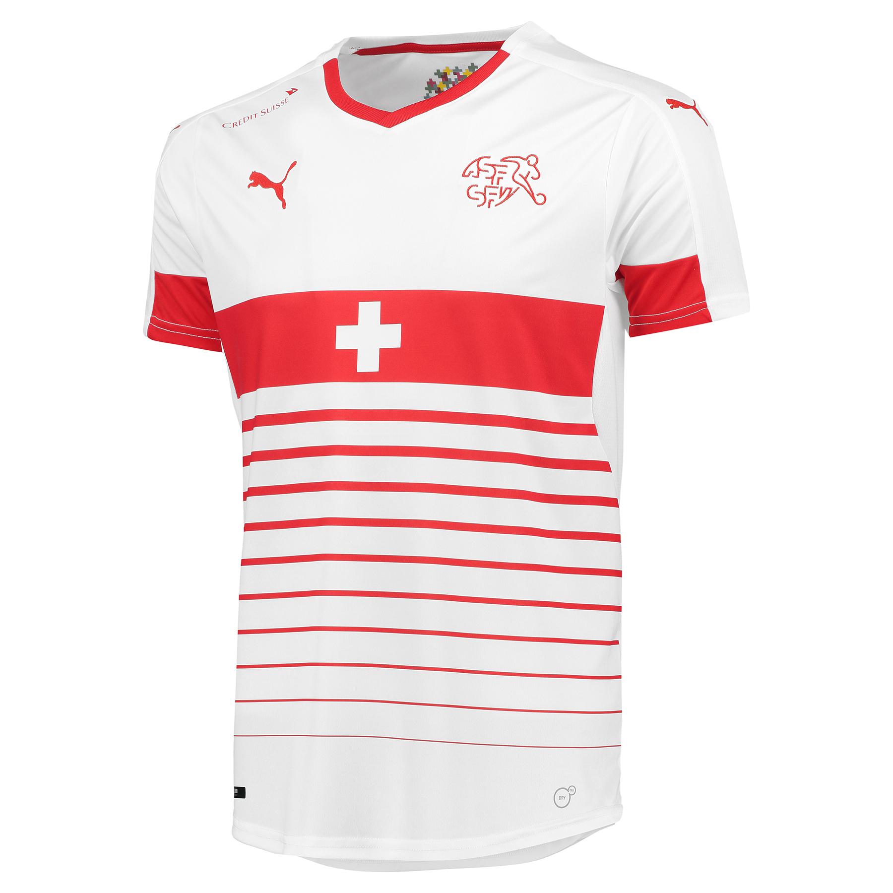 Switzerland Away Shirt 2016 White