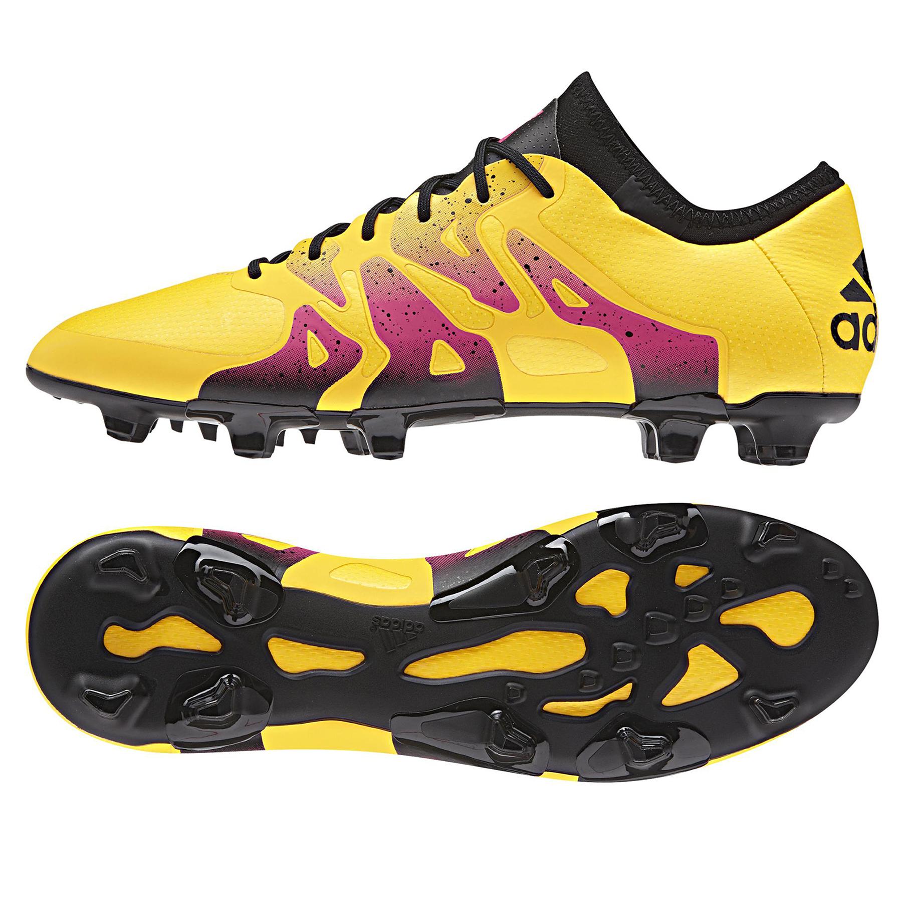 adidas X 15.1 Firm Ground Football Boots  Gold