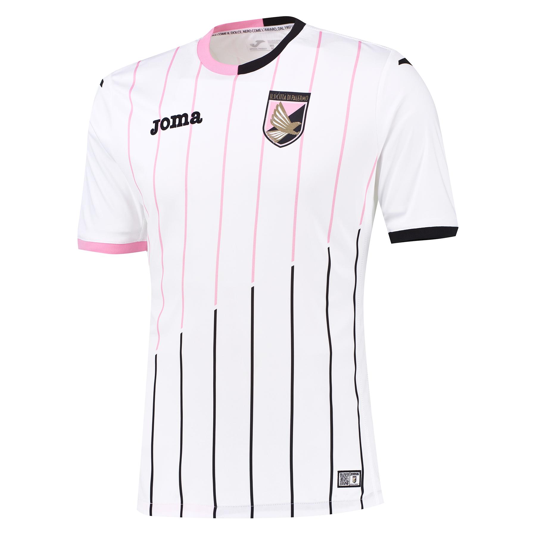 Image of Palermo Palermo Away Shirt 2015-16 White, White