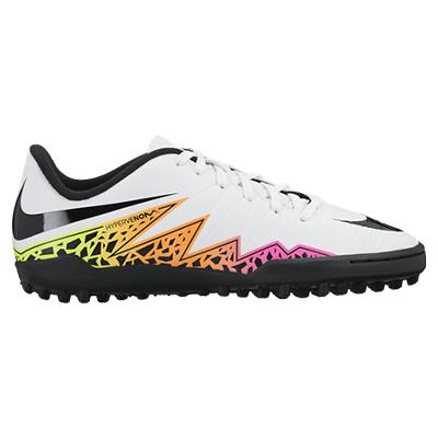 Nike Hypervenom Phelon II Astroturf Trainers - Kids White