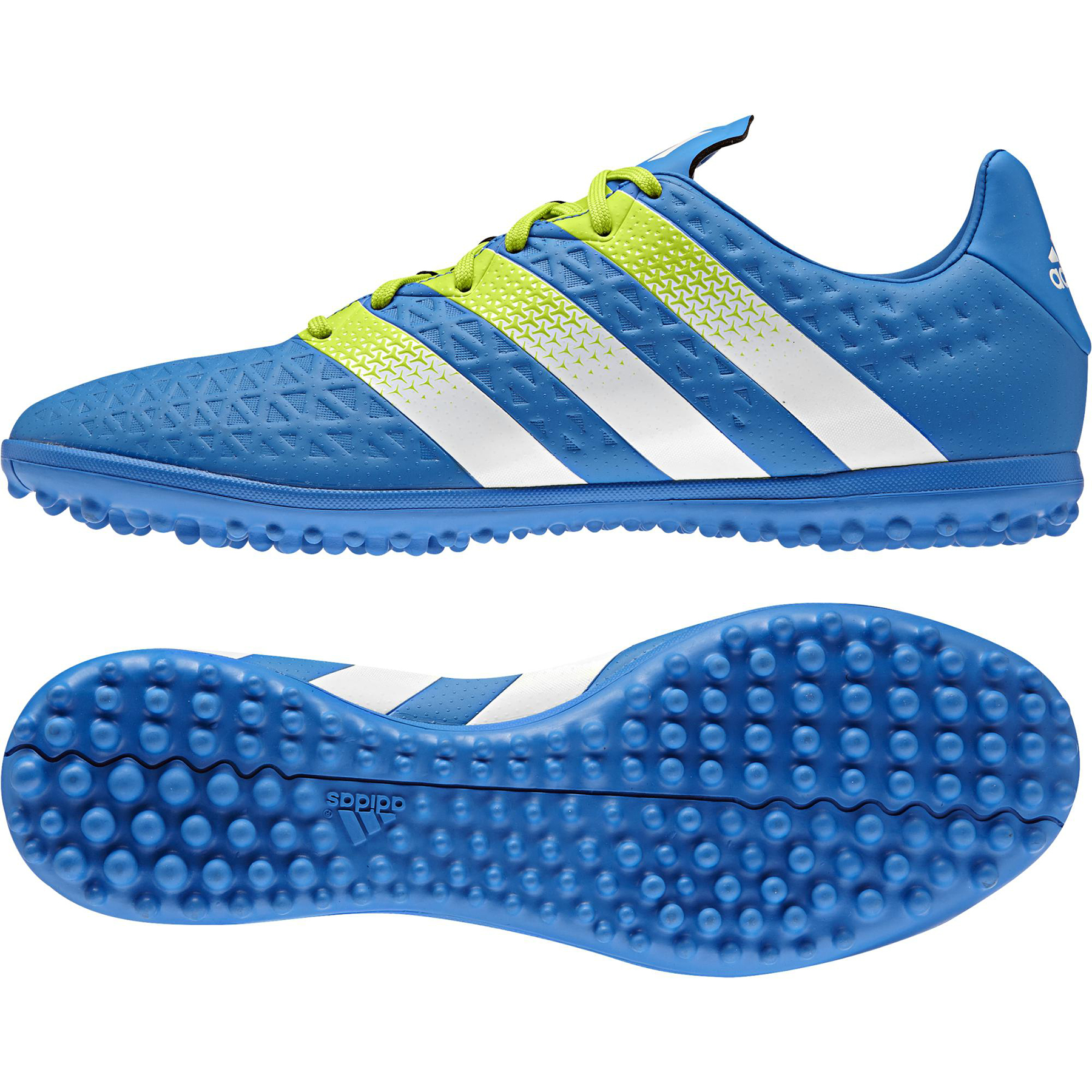 adidas Ace 16.3 Astroturf Trainers Blue
