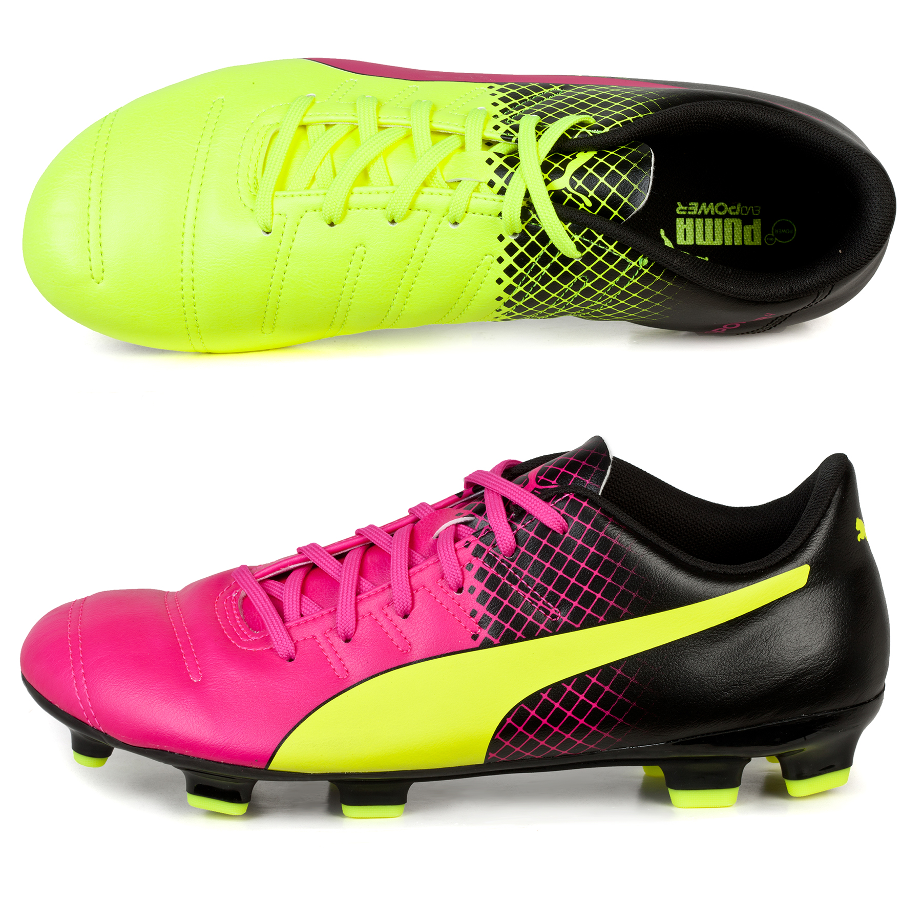 Puma evoPOWER 4.3 Tricks FG Pink
