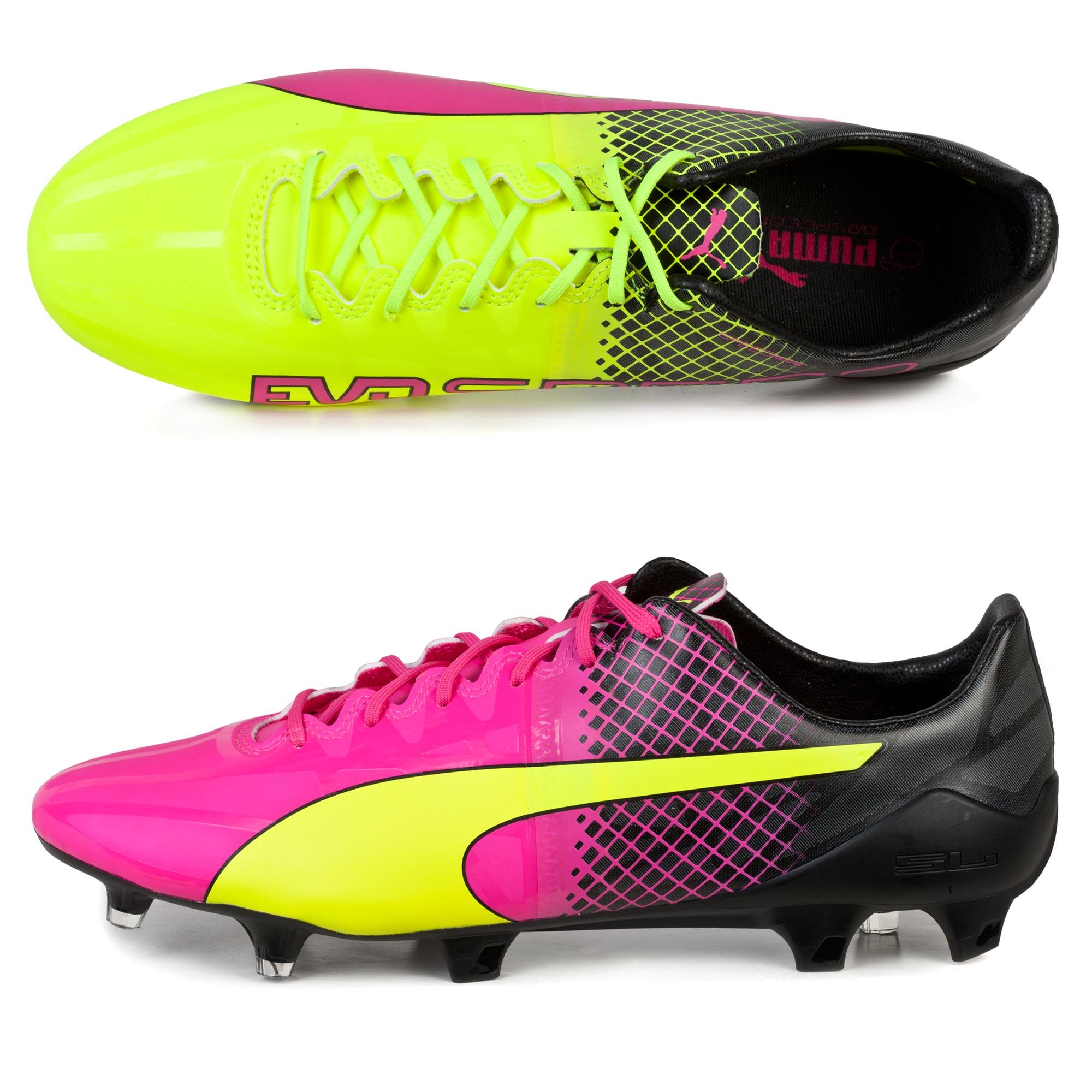 Puma evoSPEED 1.5 Tricks FG Pink