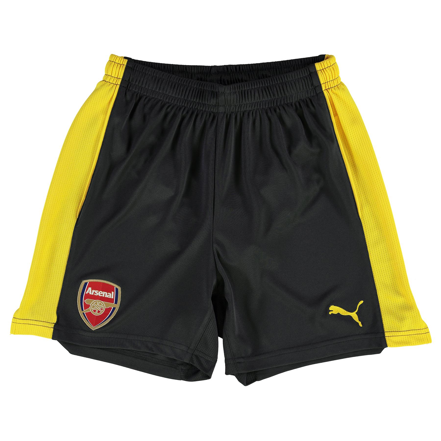 Arsenal Away Short 2016-17 - Kids, Yellow