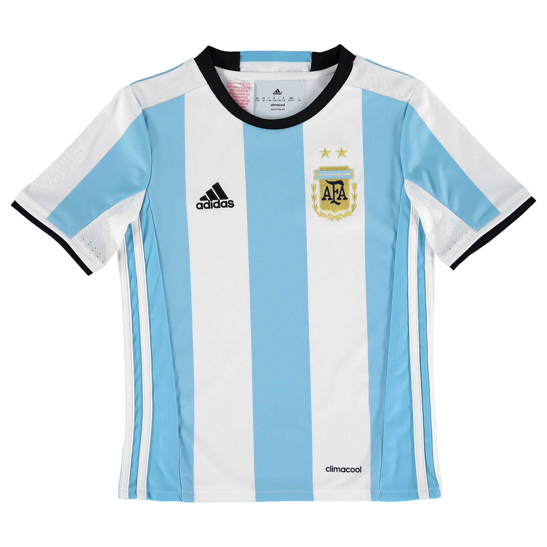 Argentina Home Shirt 2016 - Kids, N/A