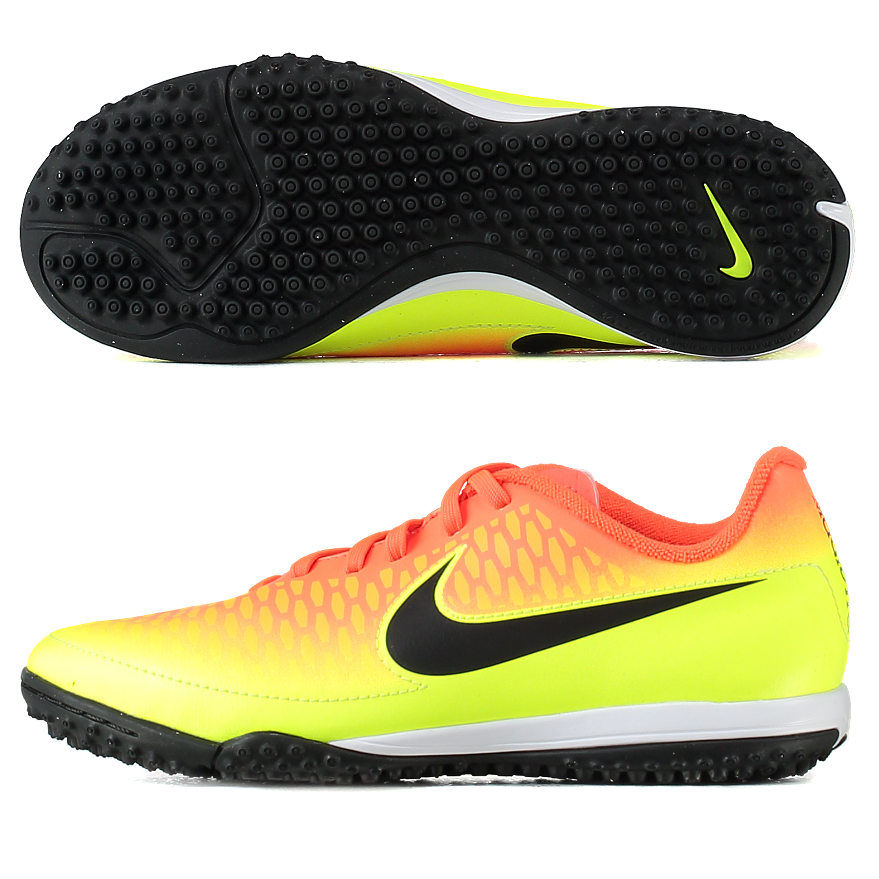 Nike Magista Onda Astroturf Trainers - Total Crimson/Black/Volt/Bright