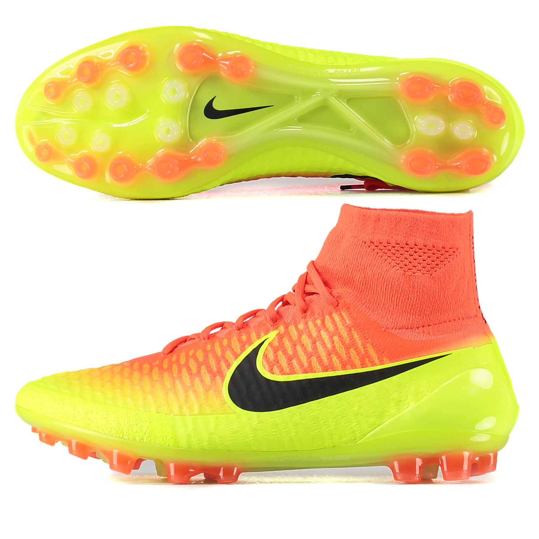 Nike Magista Obra Artificial Grass Football Boots - Total Crimson/Blac