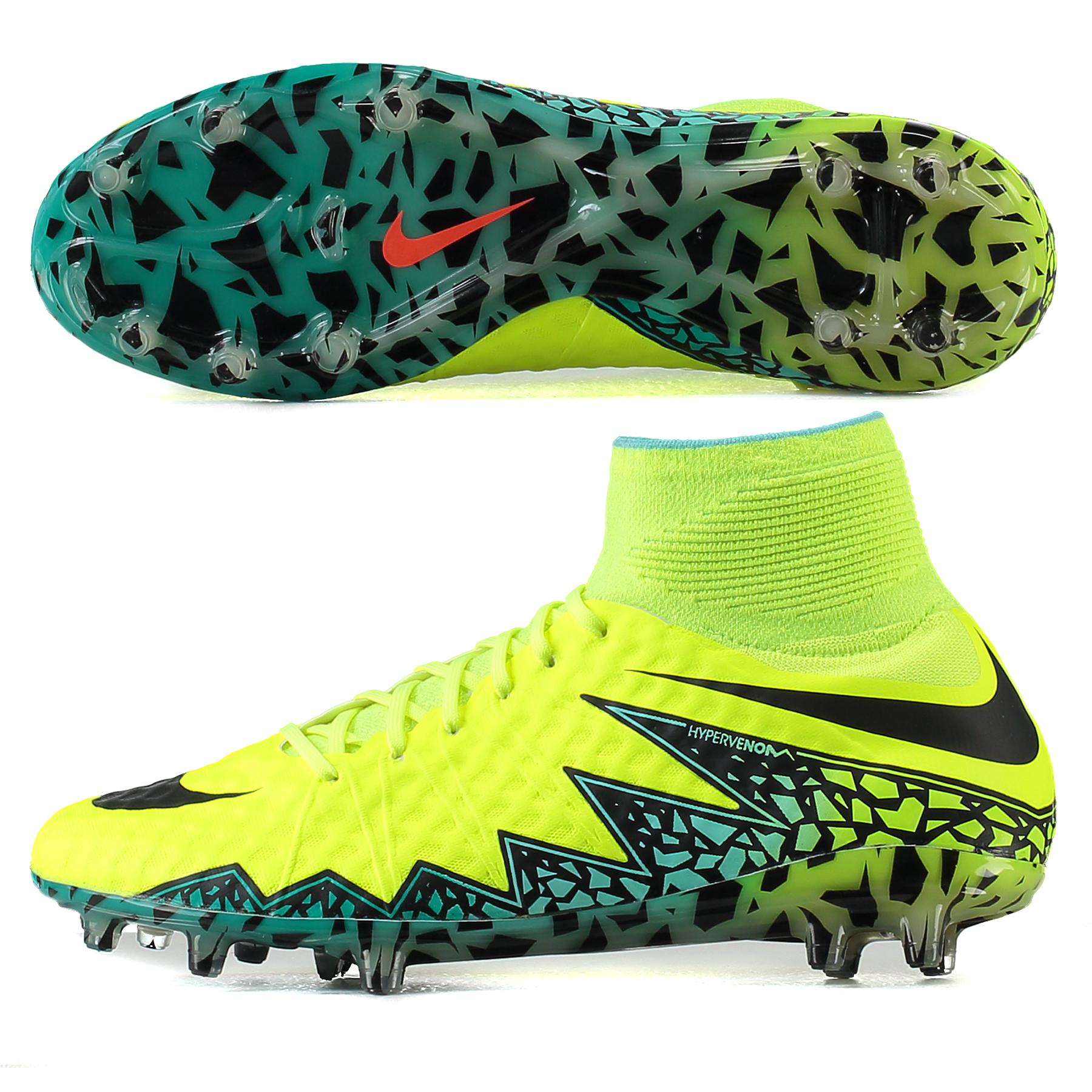bf3114386 Nike Hypervenom Phantom II Spark Brilliance FG Football Boots Yellow Image